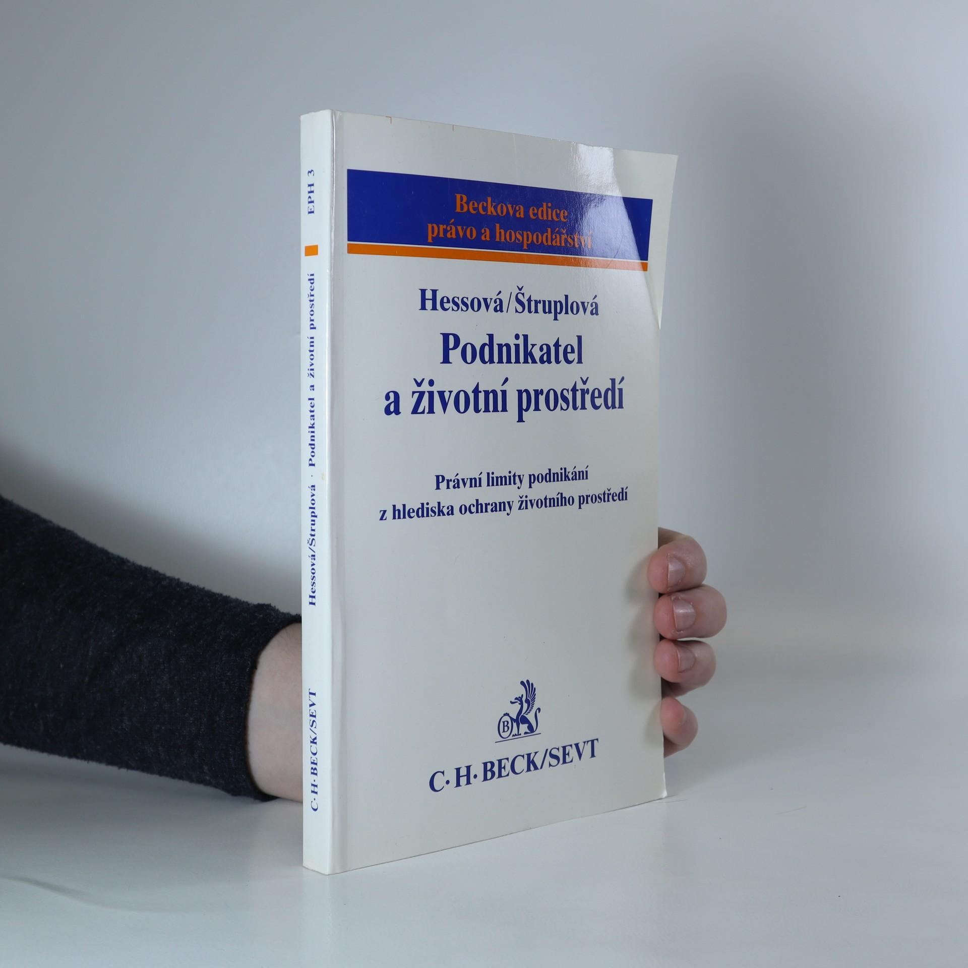 antikvární kniha Podnikatel a životní prostředí, 1994