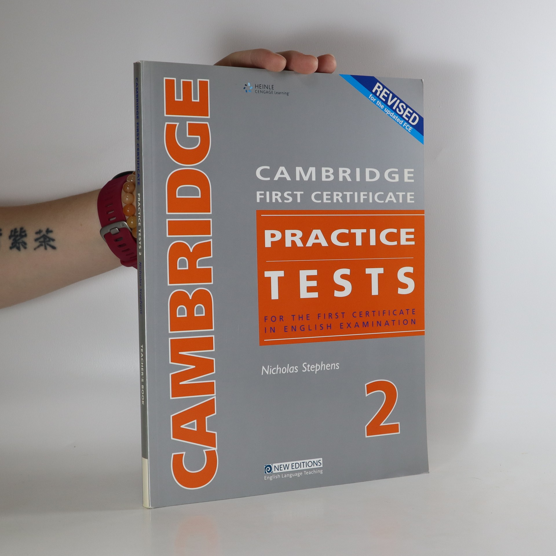 antikvární kniha Cambridge First Certificate Practice Tests - Teacher's, neuveden