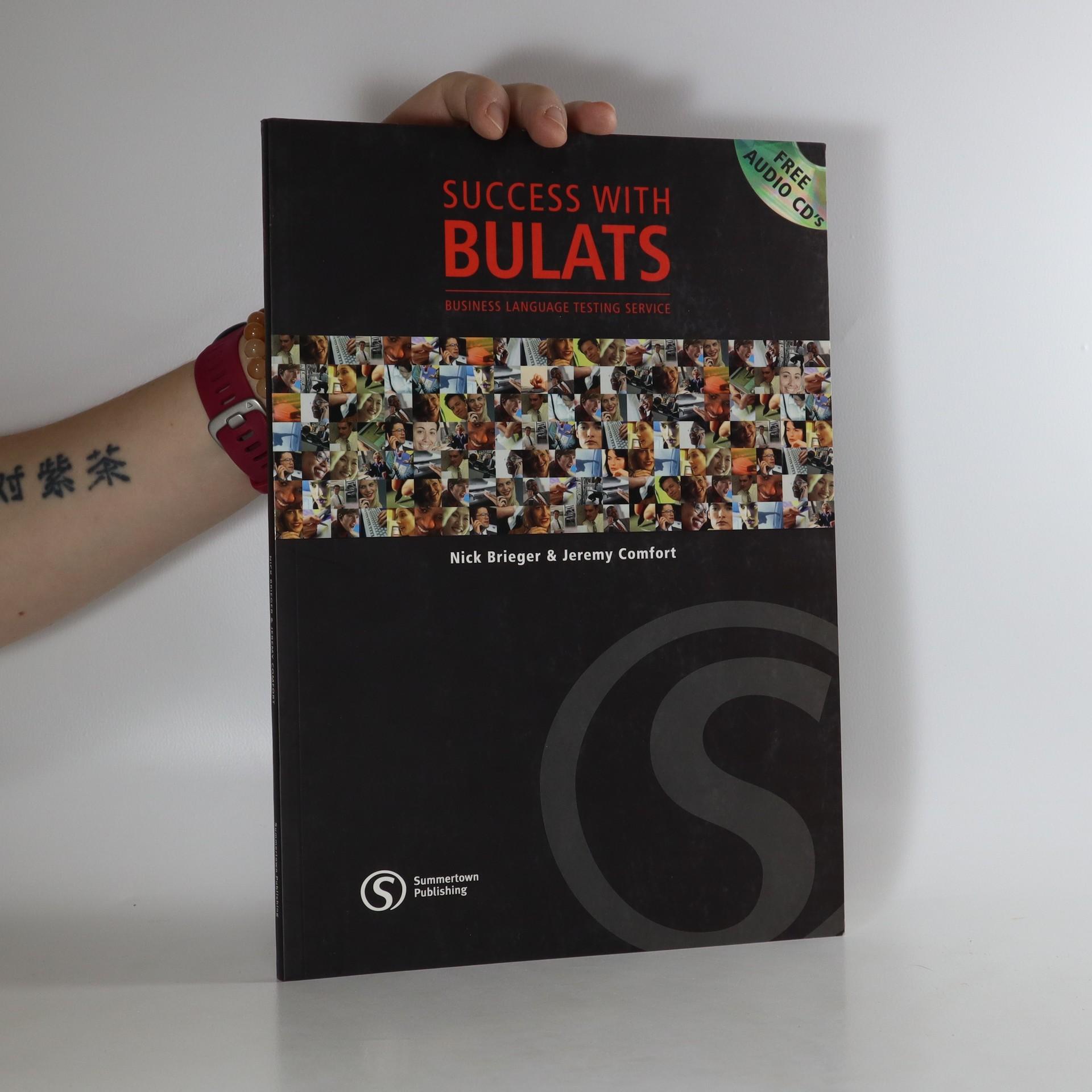antikvární kniha Success with BULATS, neuveden