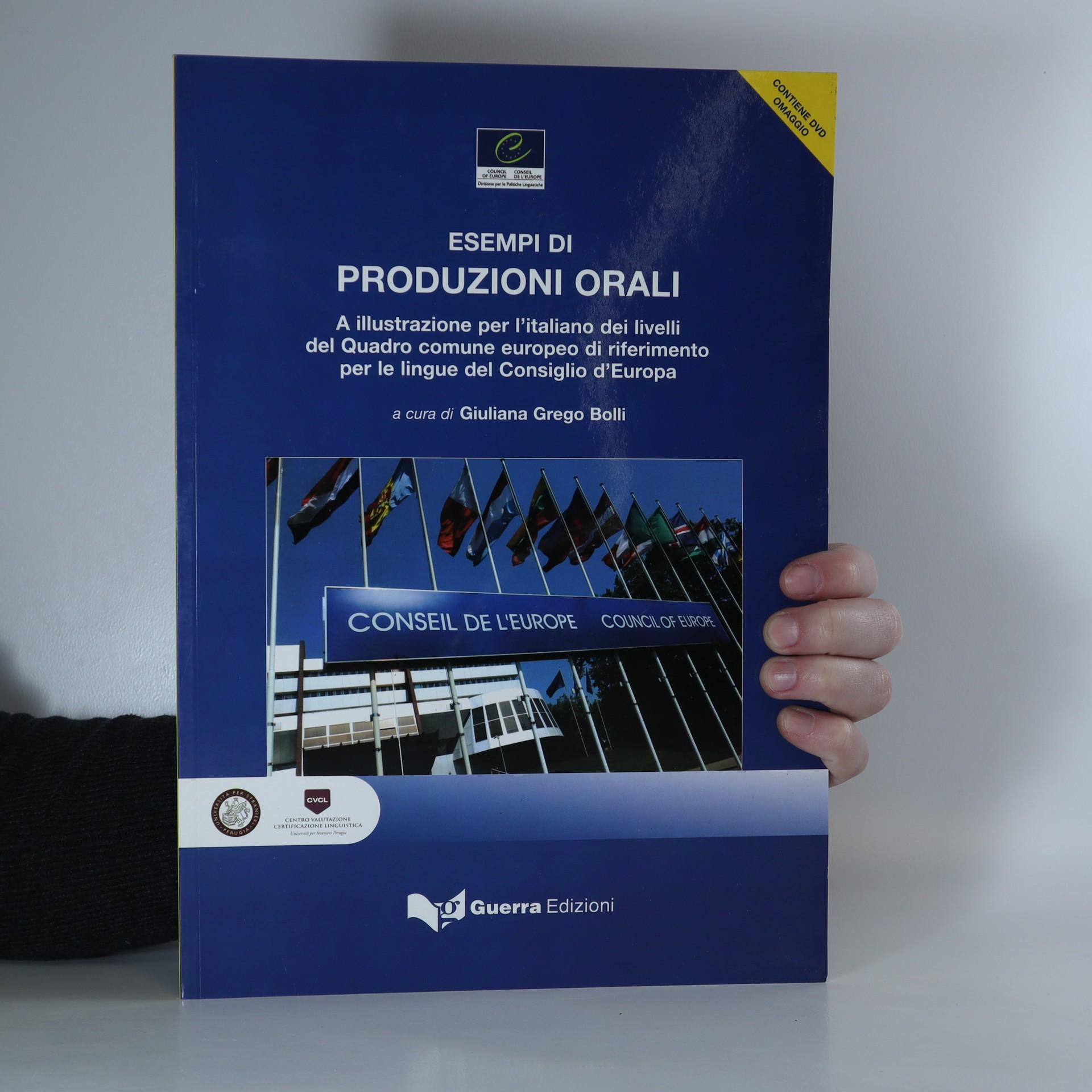 antikvární kniha Esempi di produzioni orali, 2008