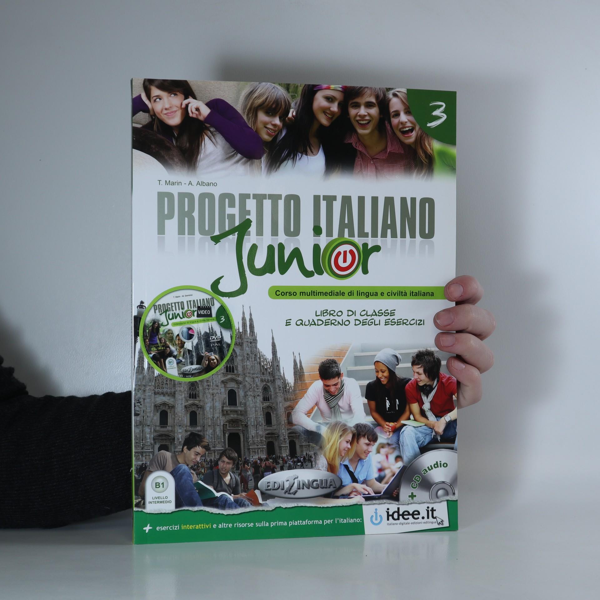 antikvární kniha Progetto Italiano Junior, 2012