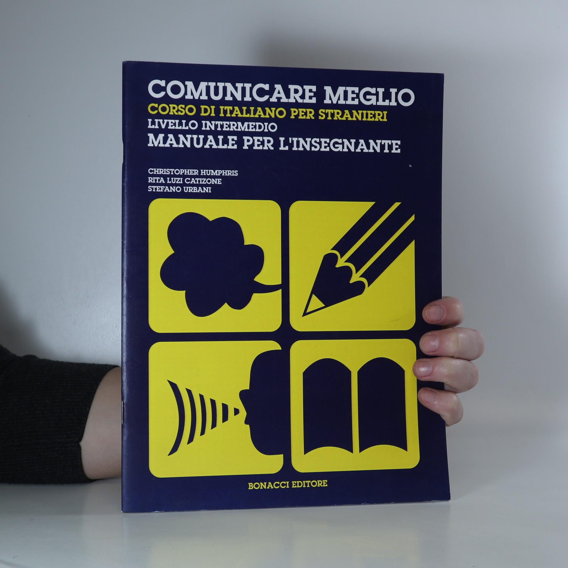 antikvární kniha Comunicare meglio, 1993