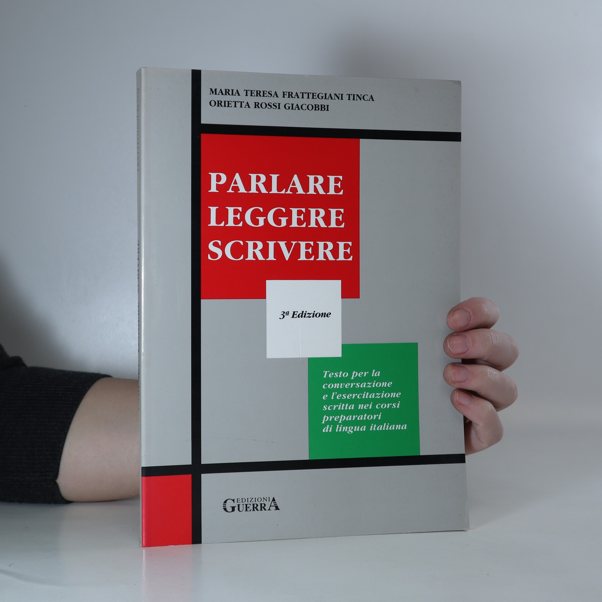 antikvární kniha Parlare, leggere, scrivere, 2003