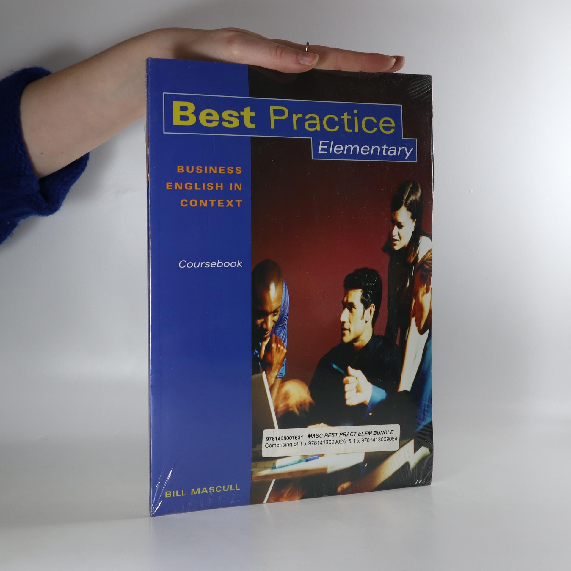 antikvární kniha Best Practice. Elementary. Business English in Context. Coursebook, neuveden