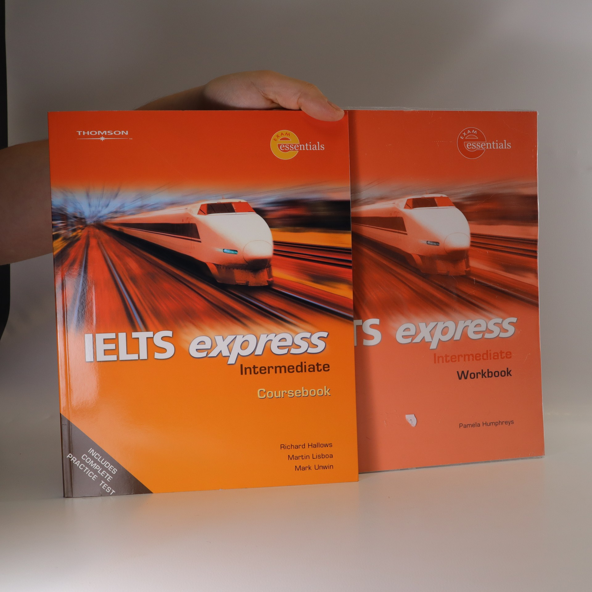 antikvární kniha IELTS express. Intermediate. Coursebook and Workbook (původní obal). (Dva svazky), 2006