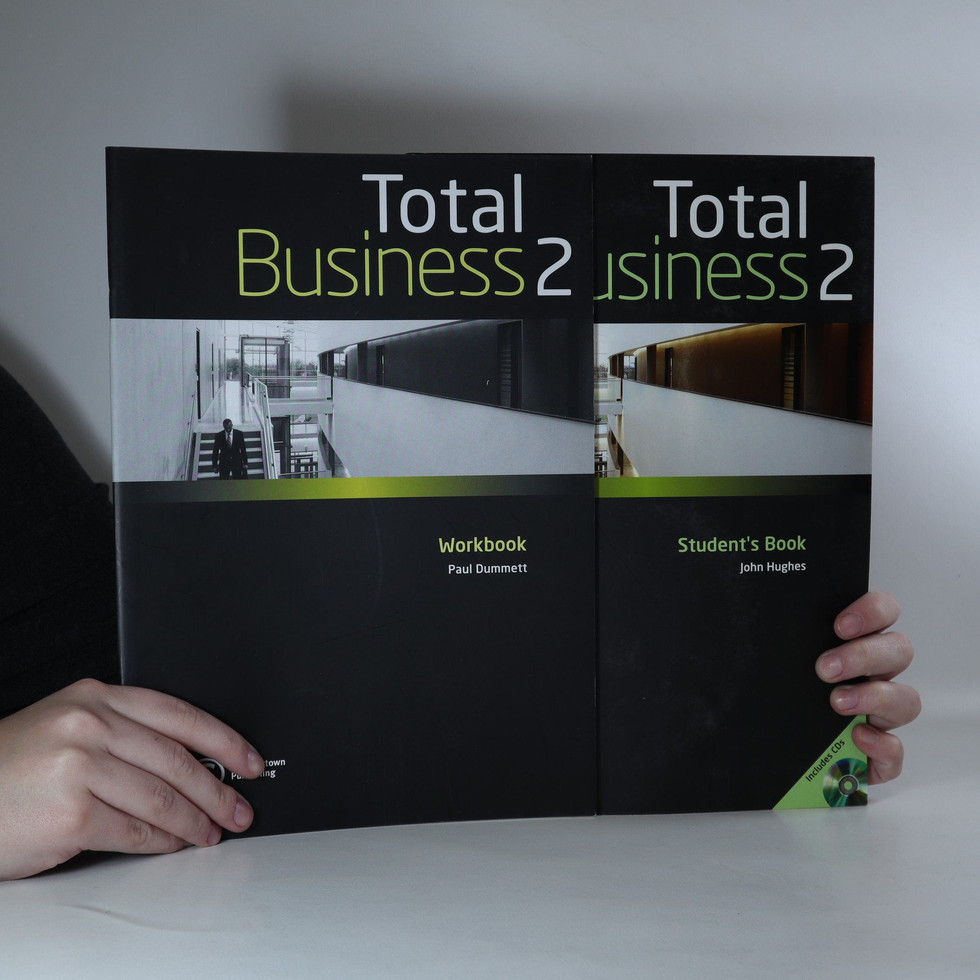 antikvární kniha Total Business 2. Student Book. Workbook (Komplet, 2 svazky), 2009