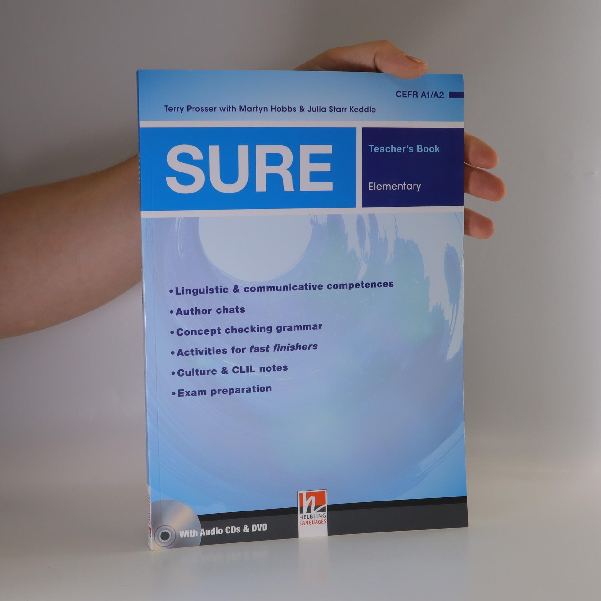 antikvární kniha Sure Elementary Teachers Book, 2014