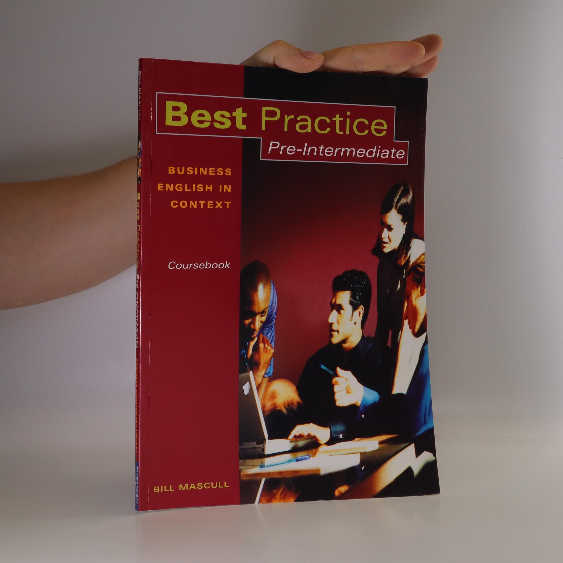 antikvární kniha Best practice. Coursebook. Business English in context. Pre-intermediate, neuveden