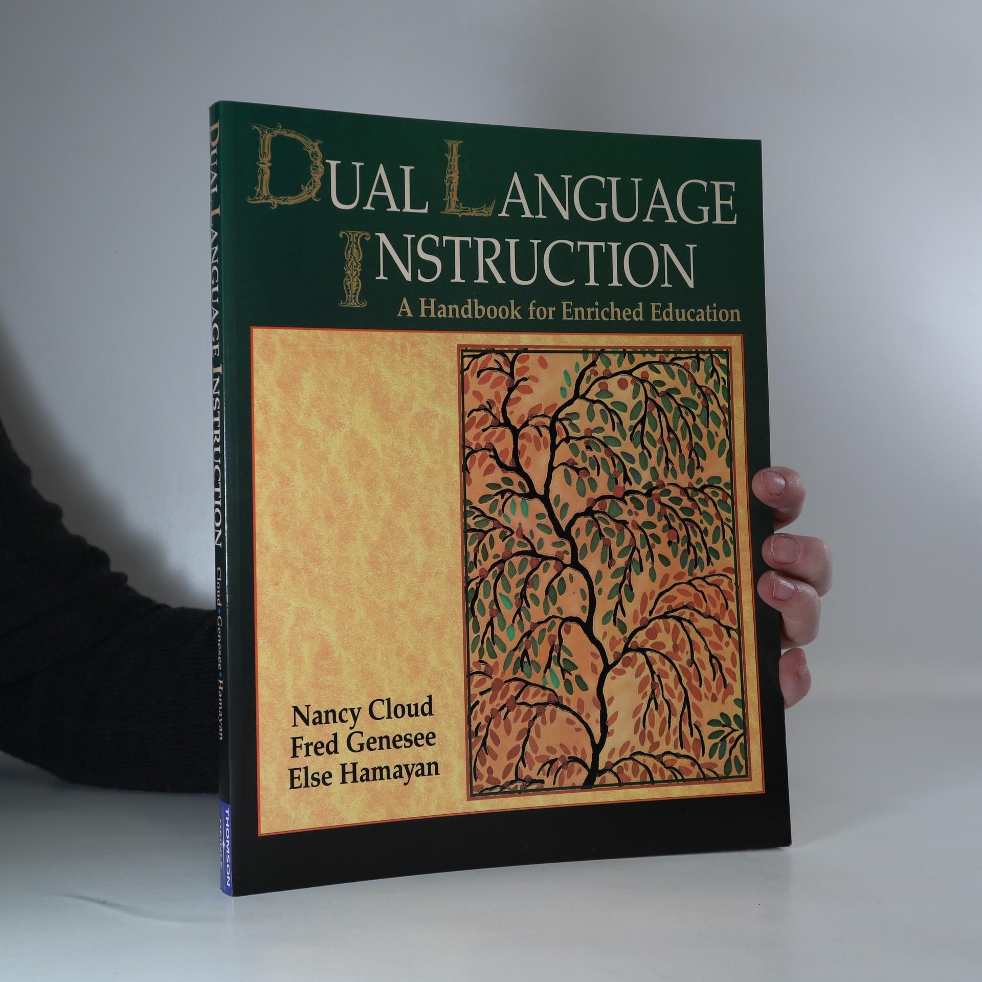 antikvární kniha Dual language instruction : a handbook for enriched education, 2000