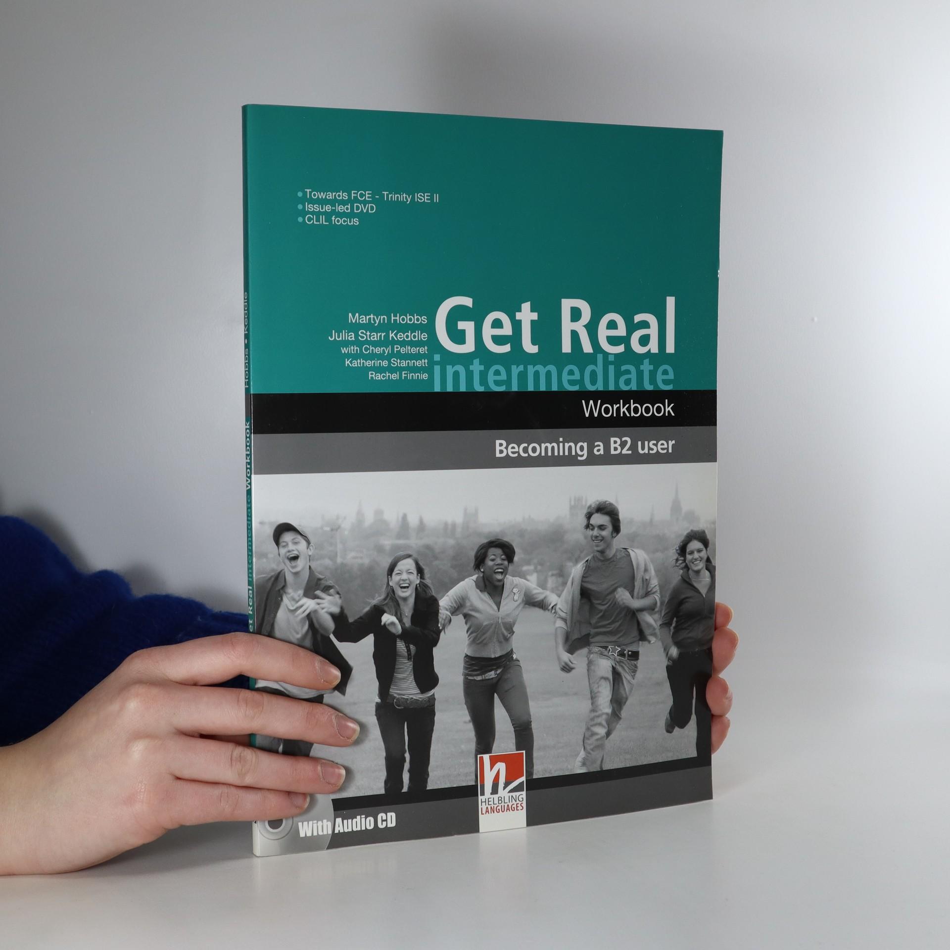 antikvární kniha Get Real. Intermediate. Workbook, 2008
