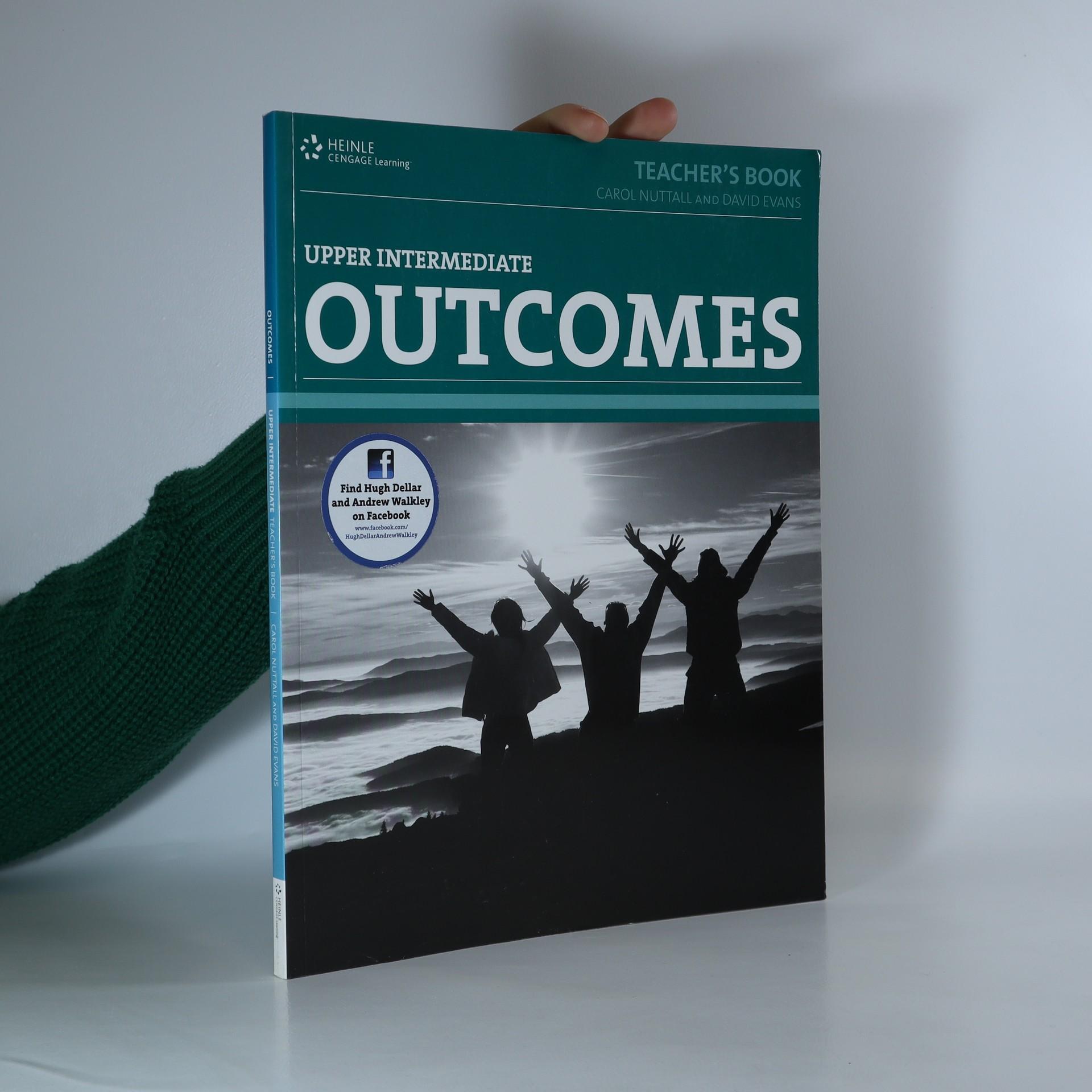 antikvární kniha Upper Intermediate Outcomes. Teacher's book, 2010