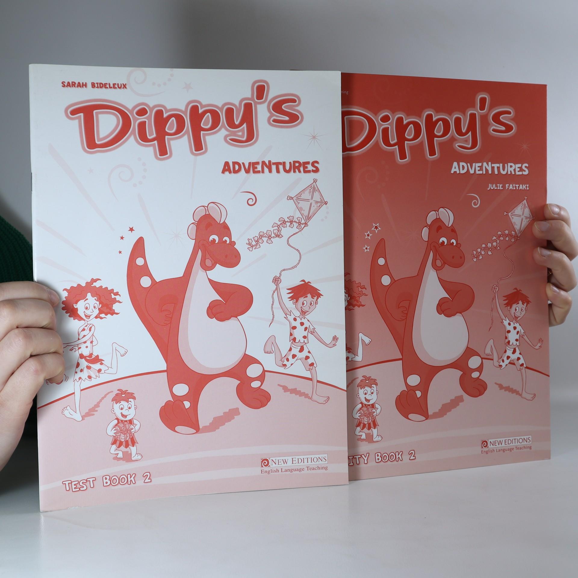 antikvární kniha Dippy's Adventures: Text book 2, Activity book 2 (2 svazky), 2007