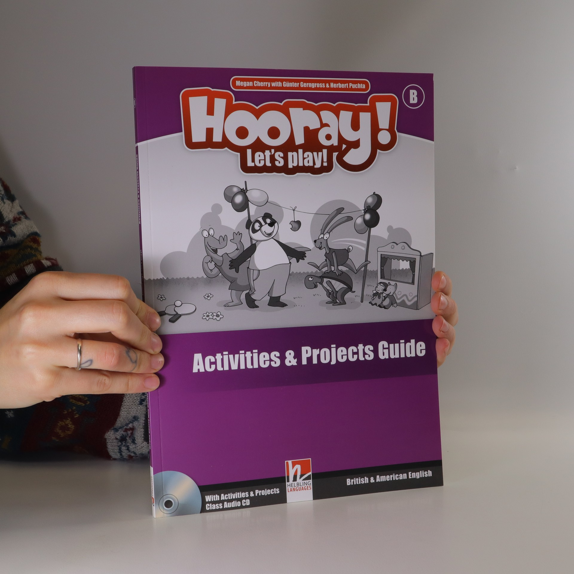 antikvární kniha Hooray! Let's Play! Level B. Activities and Projects Guide., neuveden