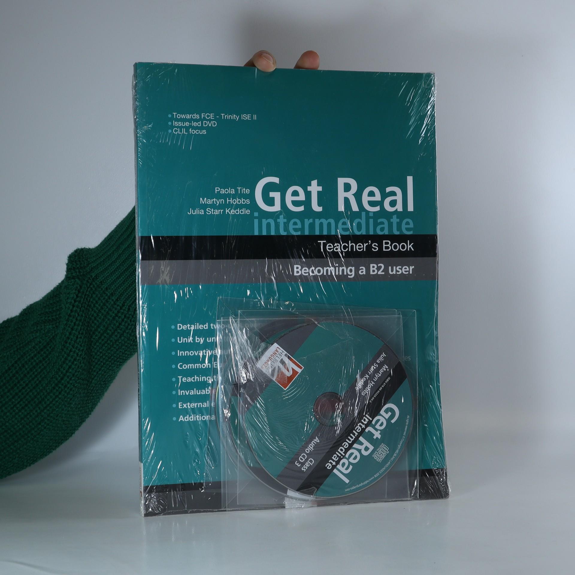 antikvární kniha Get Real. Intermediate. Teacher's book, neuveden