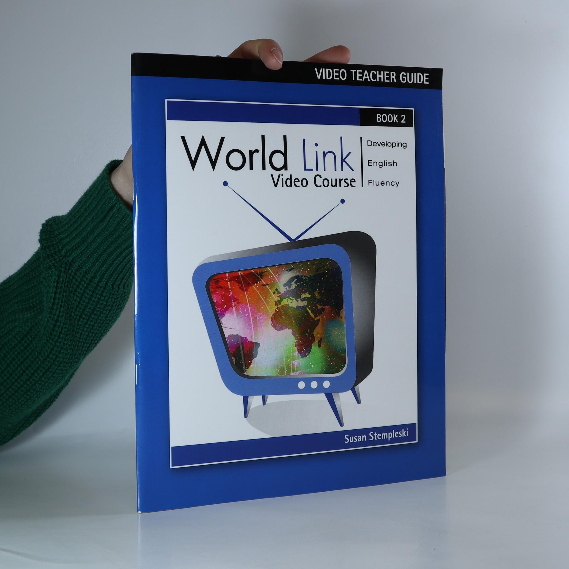 antikvární kniha World link video course. Book 2 (video teacher guide), 2006