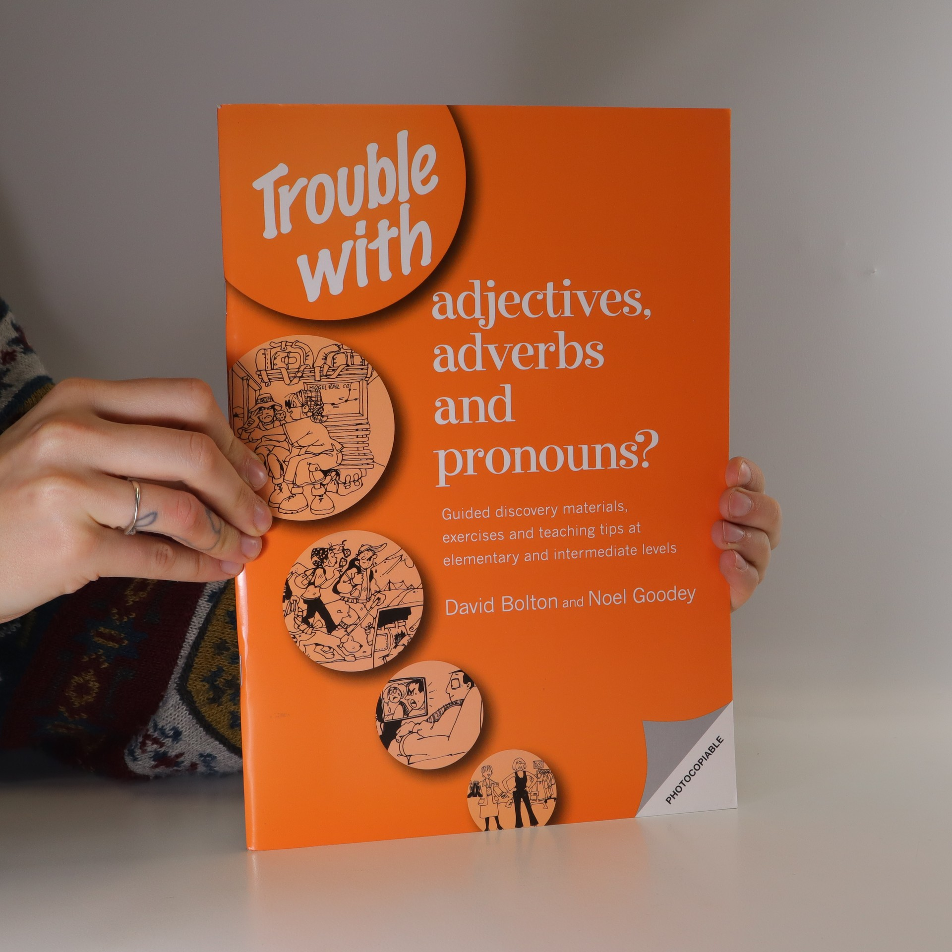 antikvární kniha Trouble with adjectives, adverbs and pronouns?, 2000