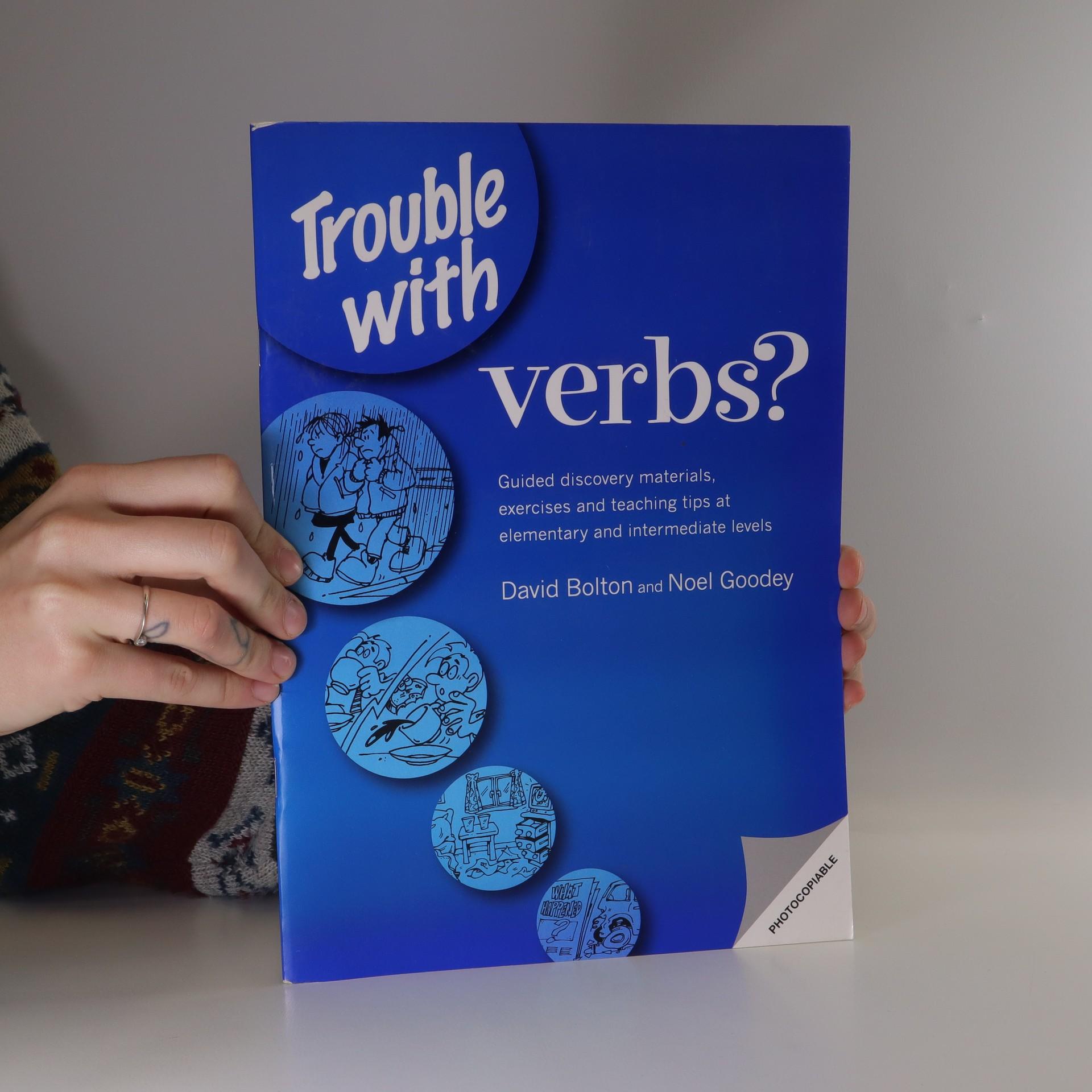 antikvární kniha Trouble with verbs?, 1999