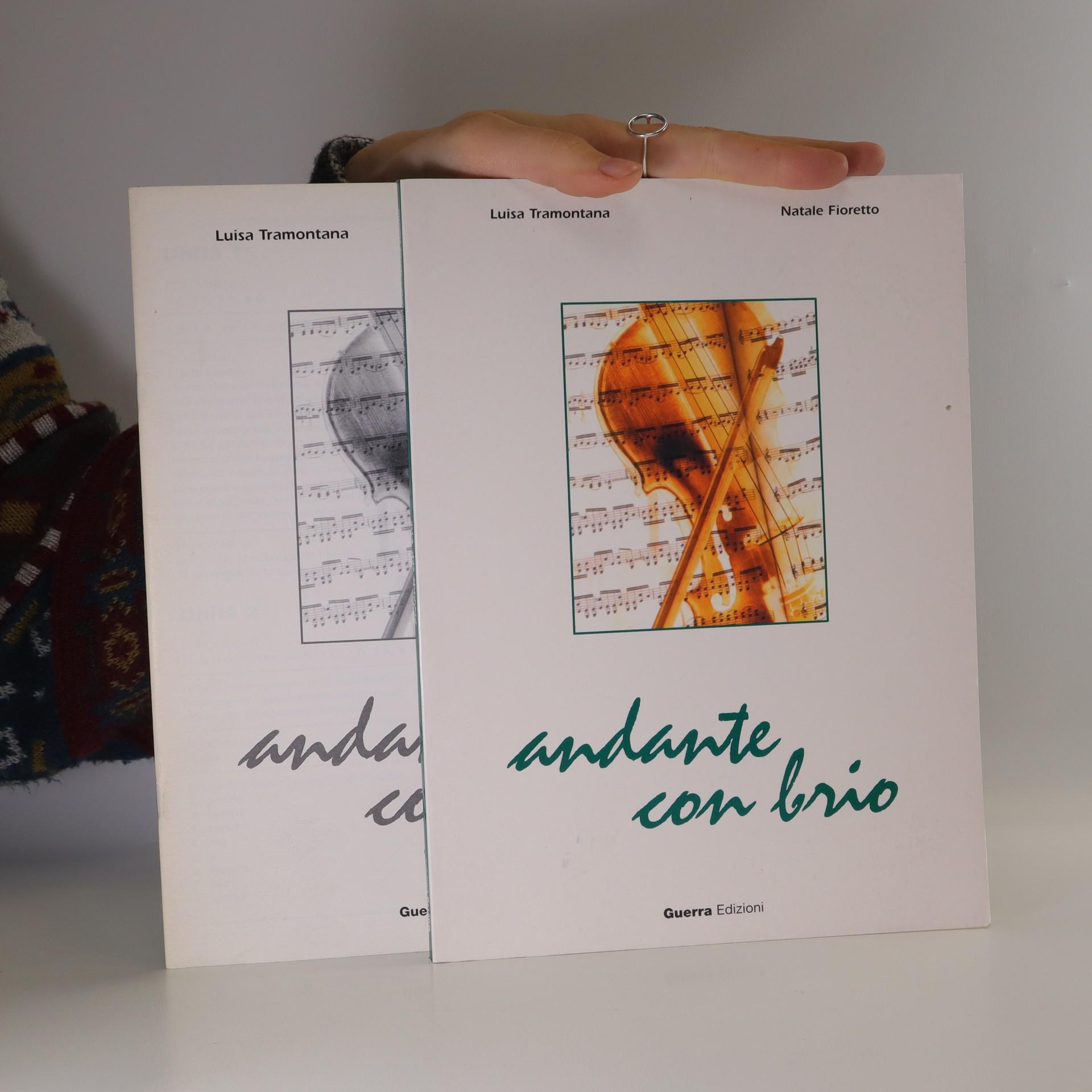antikvární kniha Andante con brio (dva svazky), 2003