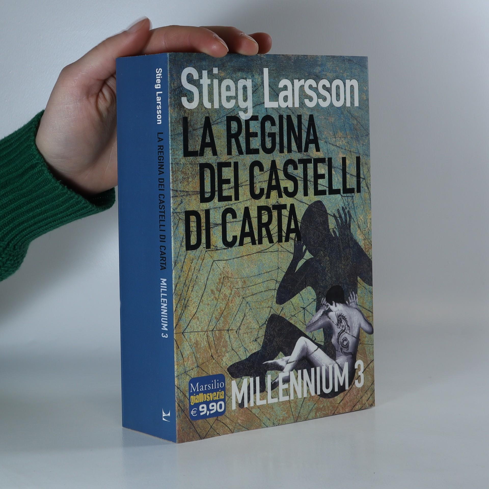 antikvární kniha La regina dei castelli di carta, 2015