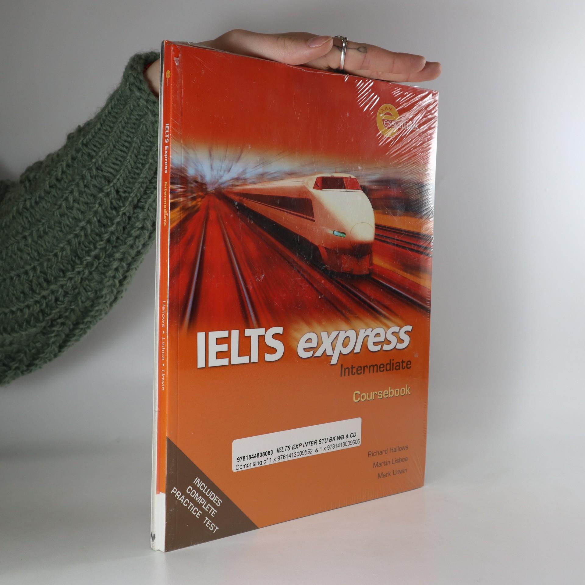 antikvární kniha IELTS express Workbook + Coursebook (2 svazky, v původním balení), neuveden
