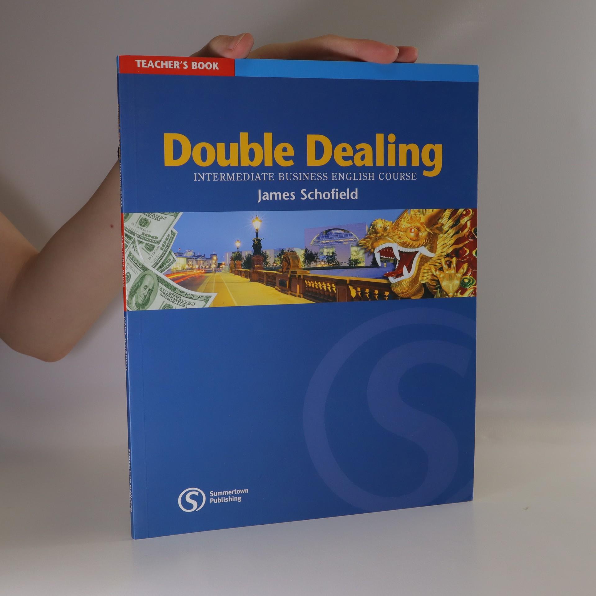 antikvární kniha Double Dealing. Intermediate Business English Course. Teacher's book, 2004