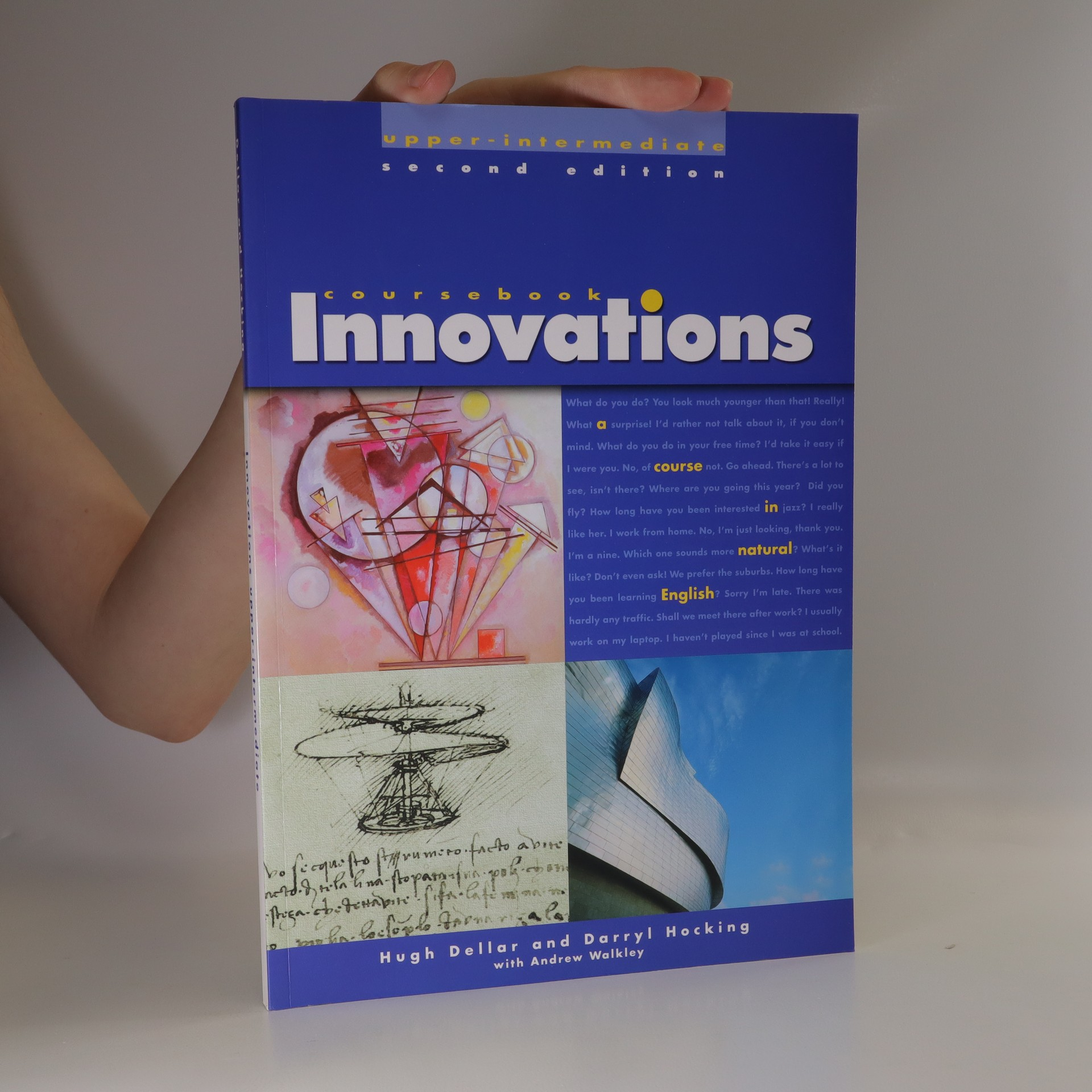 antikvární kniha Innovations upper-intermediate coursebook : a course in natural English, 2004