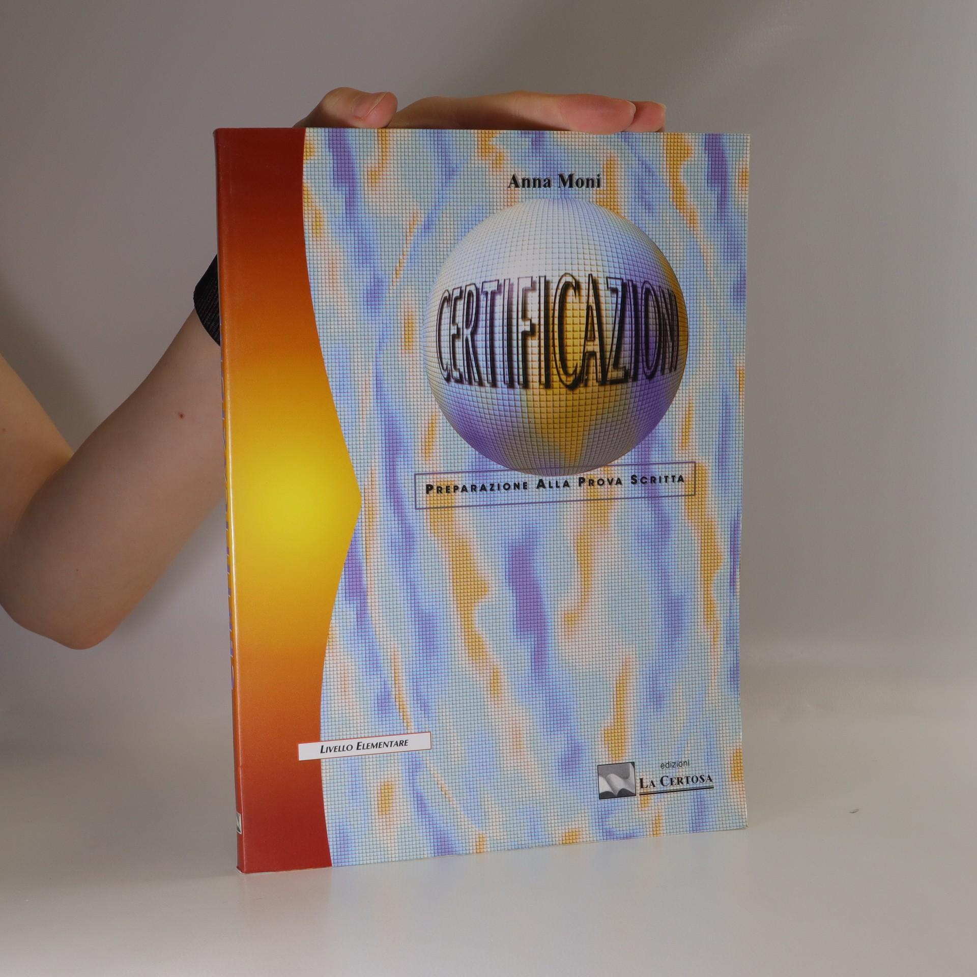 antikvární kniha Certificazioni. Livello Elementare, 1998