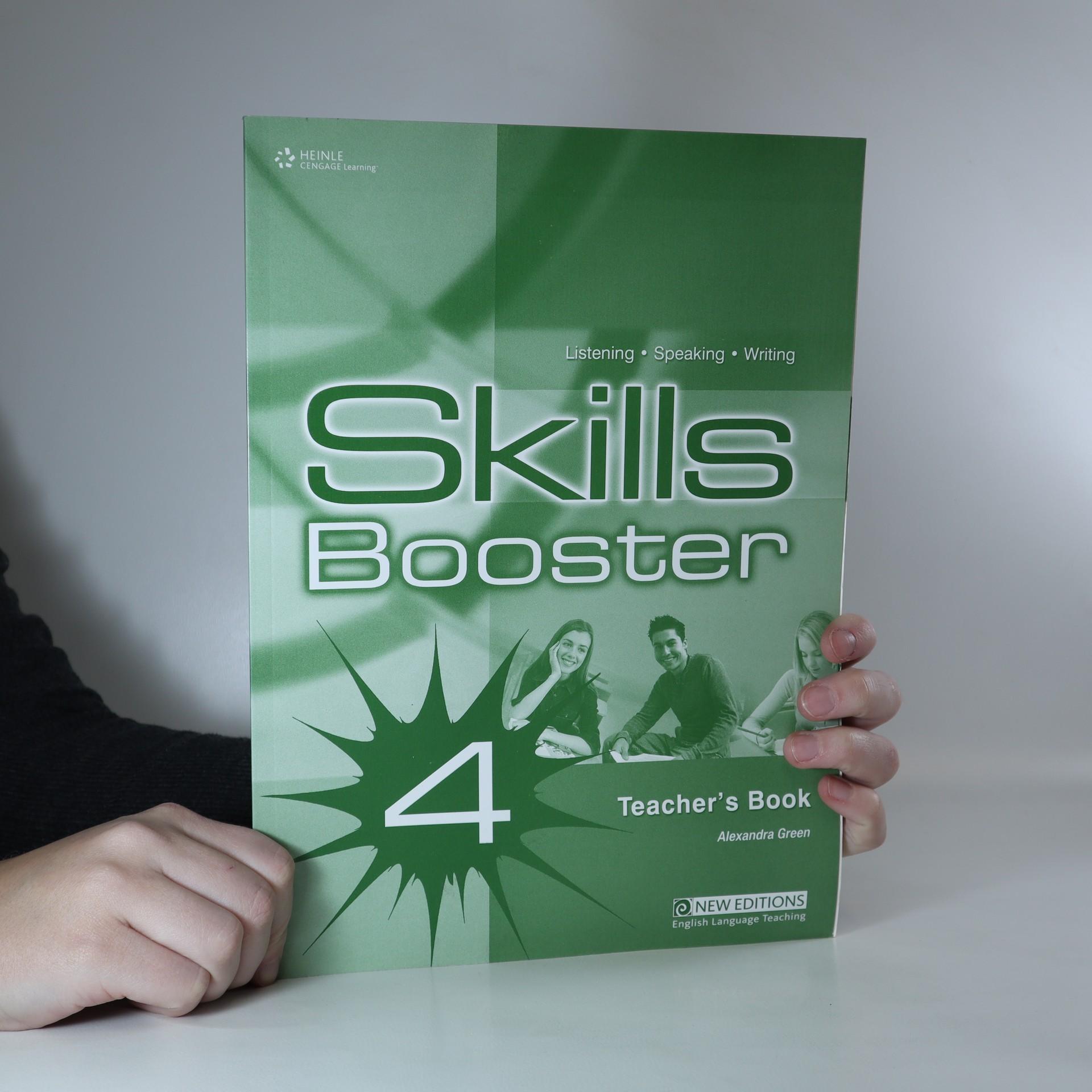 antikvární kniha Skills Booster 4 Teacher's Book, 2008