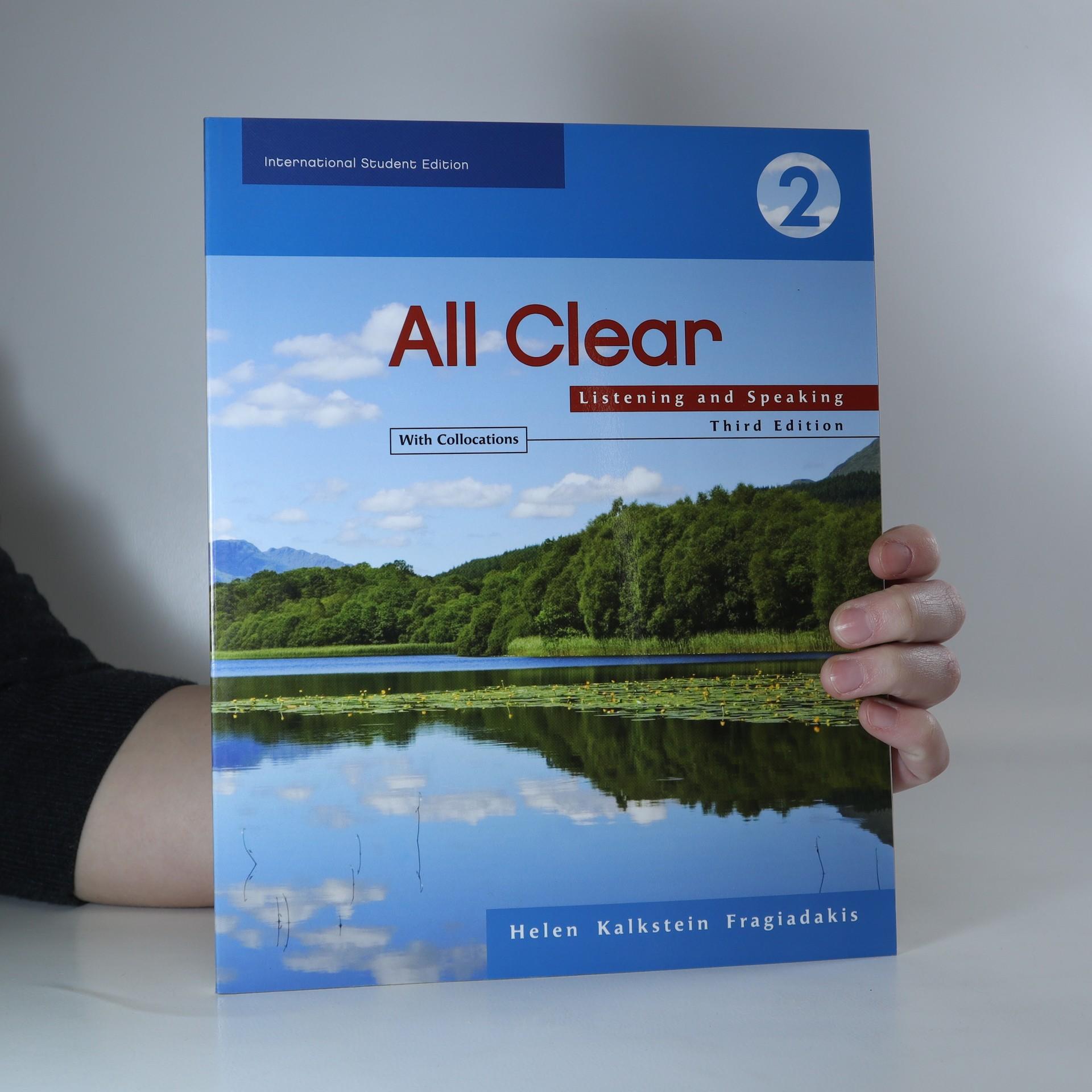 antikvární kniha All Clear 2, 2007