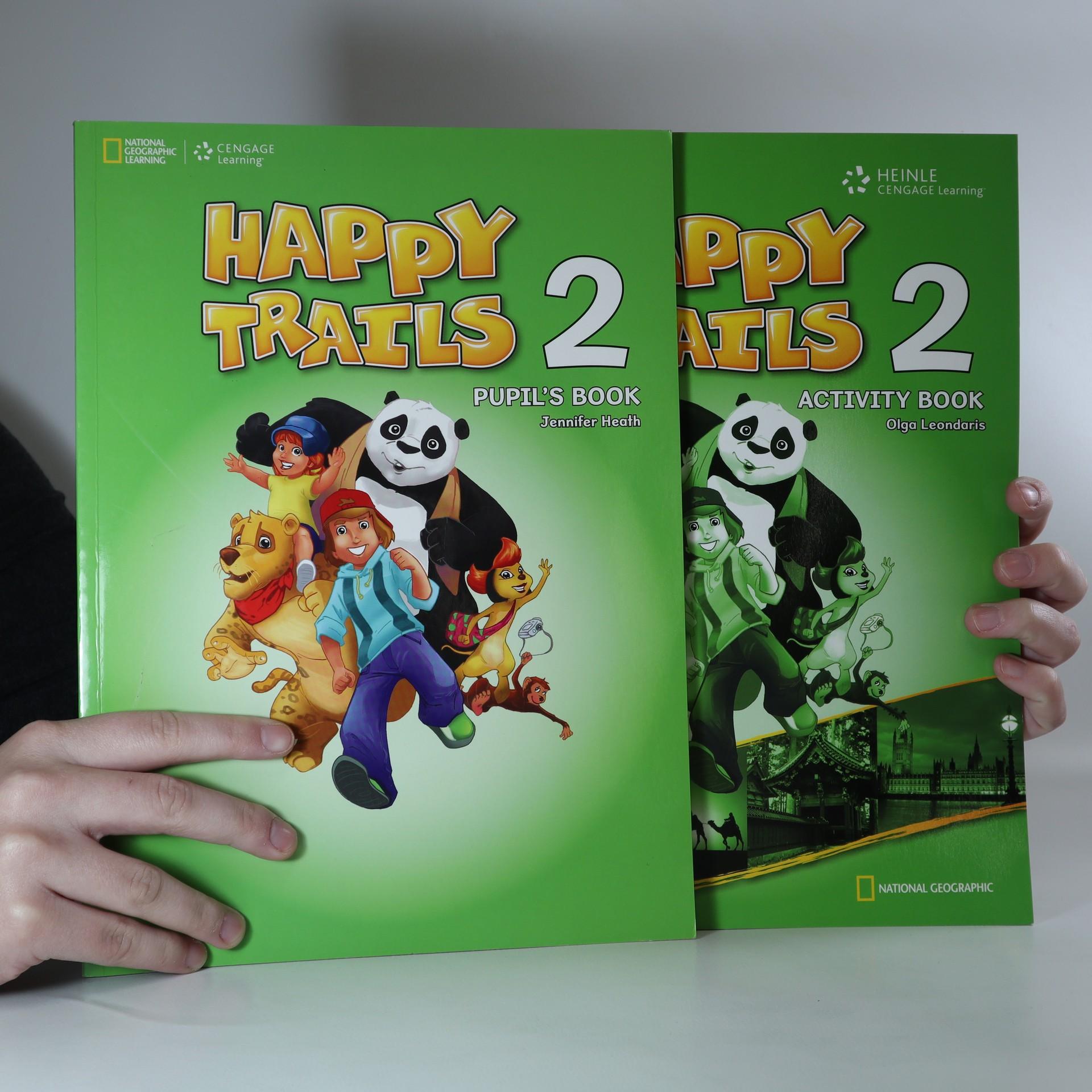 antikvární kniha Happy Trails 2. Pupil's book. Activity book, 2010