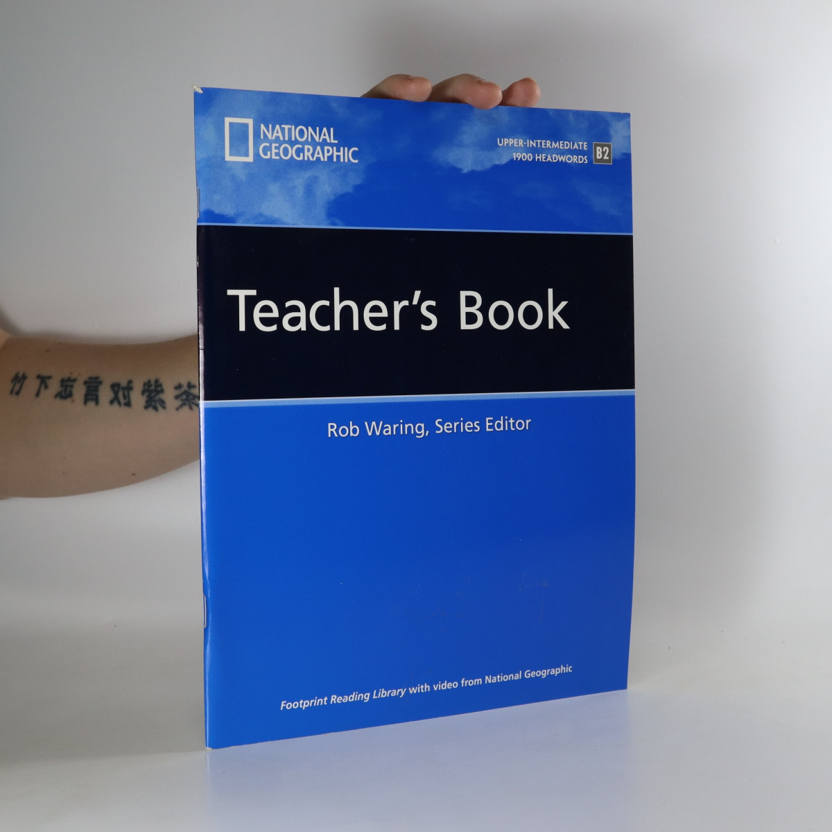 antikvární kniha Footprints Reading Library. Teacher's book. Upper-intermediate B2, neuveden