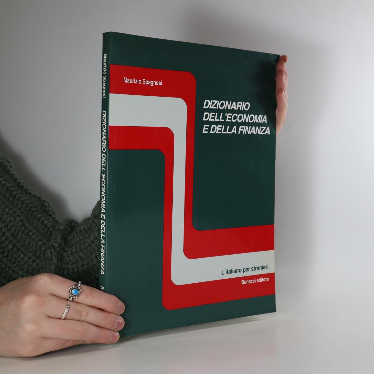 antikvární kniha Dizionario dell'economia e della finanza, neuveden