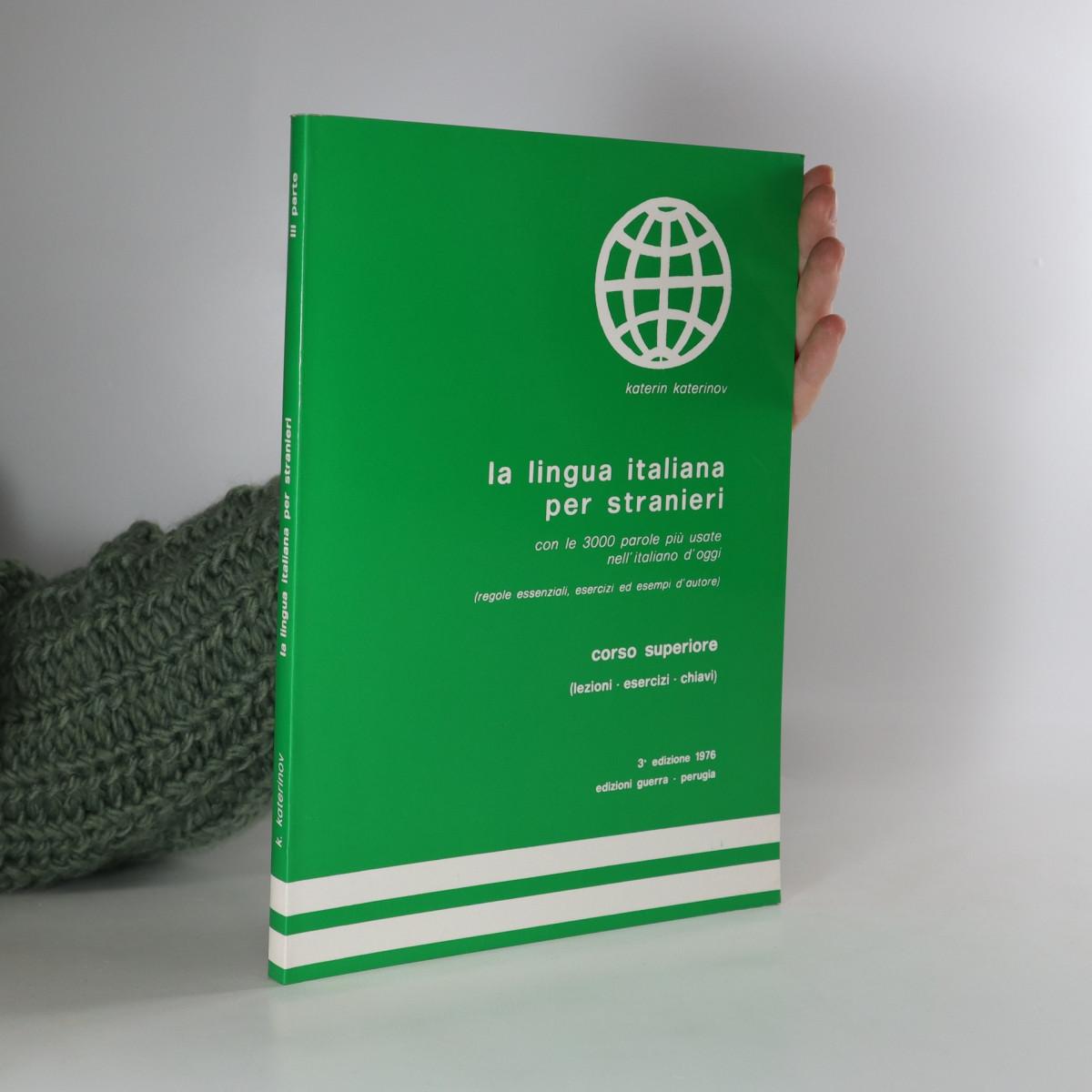 antikvární kniha La lingua italiana per stranieri , 2000