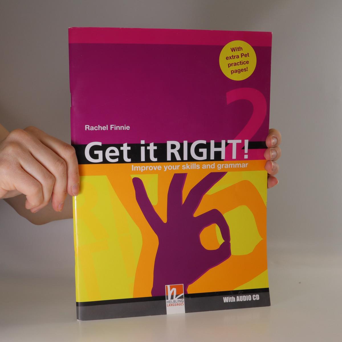 antikvární kniha Get it right! 2. Improve your skills and grammar, 2006