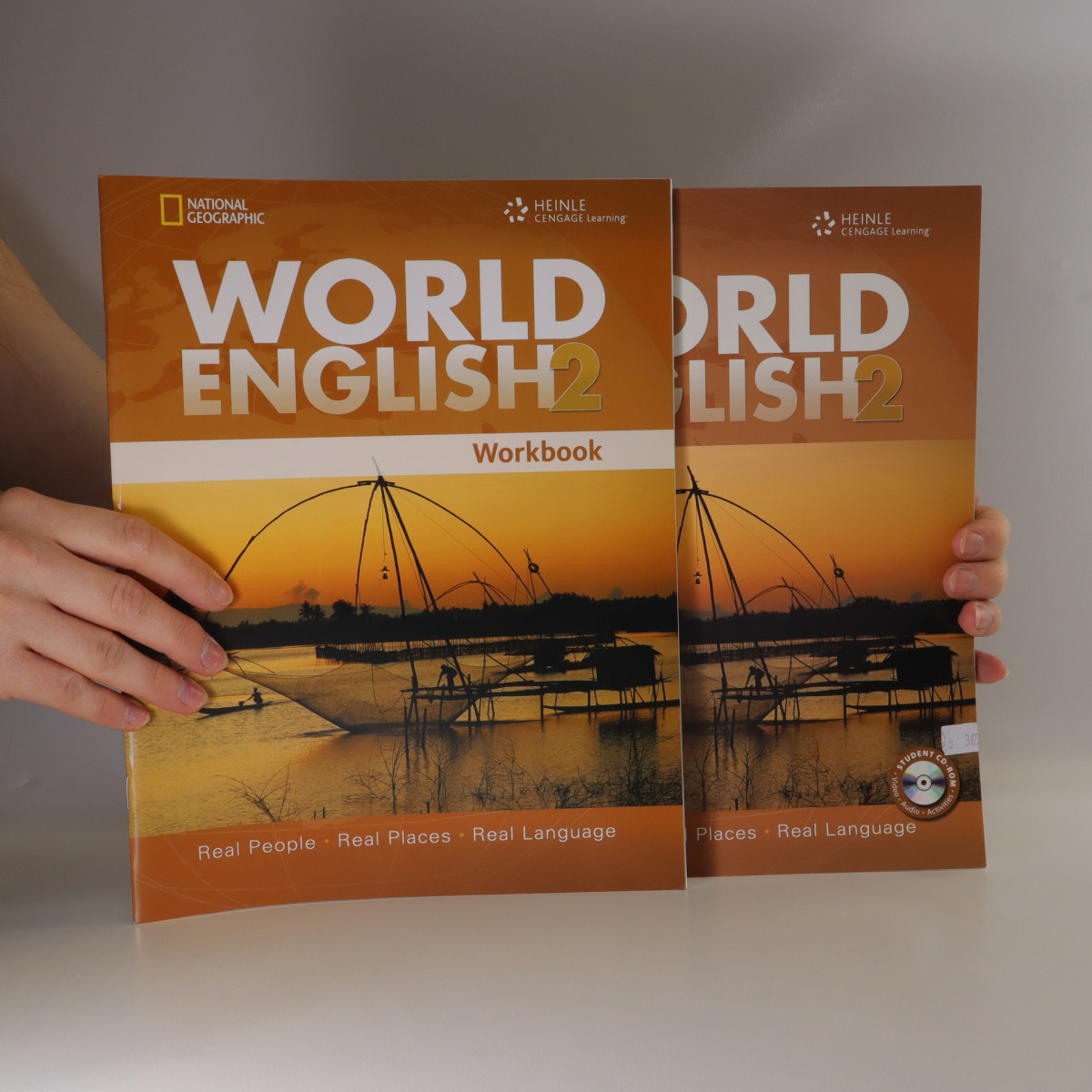 antikvární kniha World English 2. Real People, Real Places, Real Language. Student's Book. Workbook, 2010