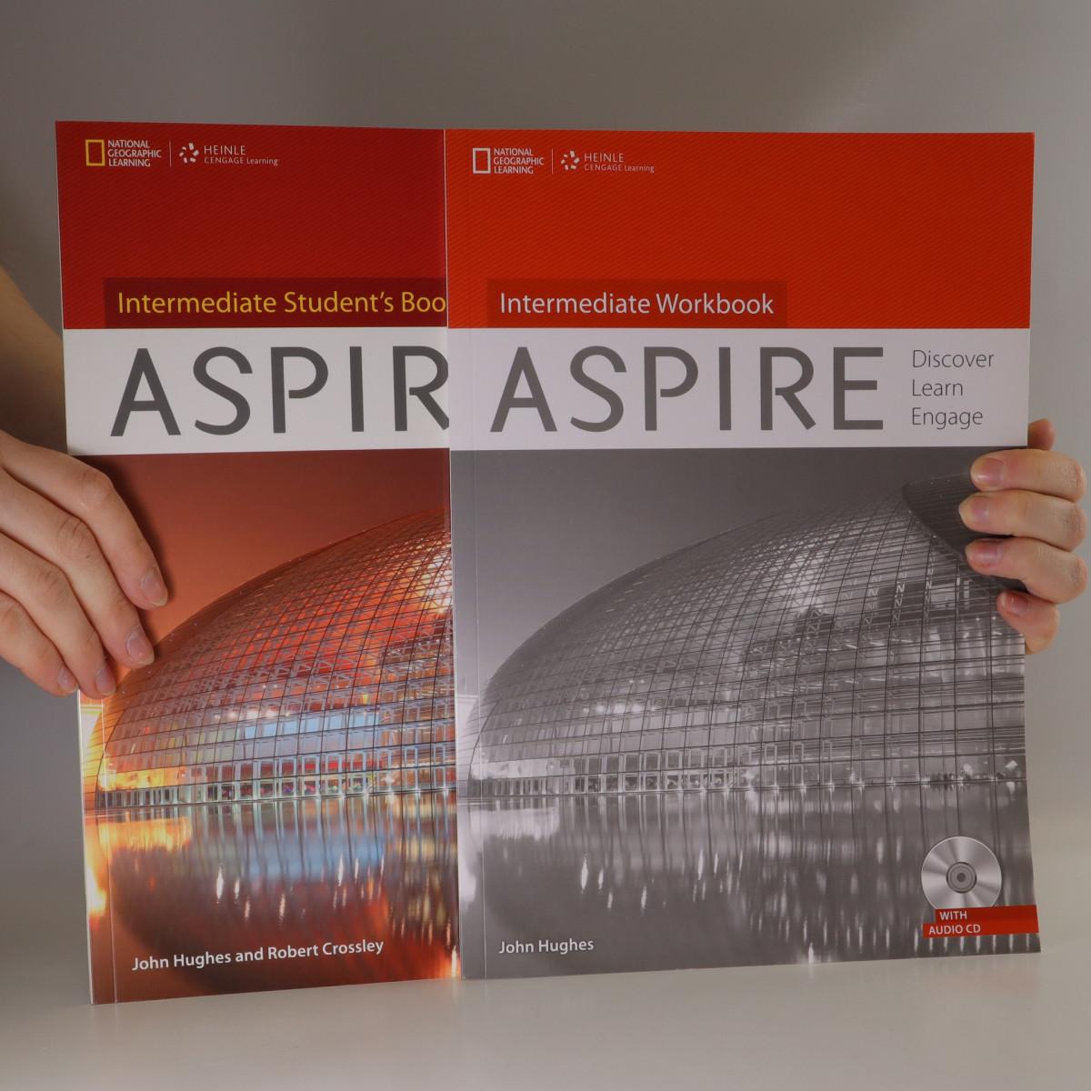 antikvární kniha Aspire. Discover, Learn, Engage. Intermediate Student's book. Intermediate Workbook (2 svazky), 2013