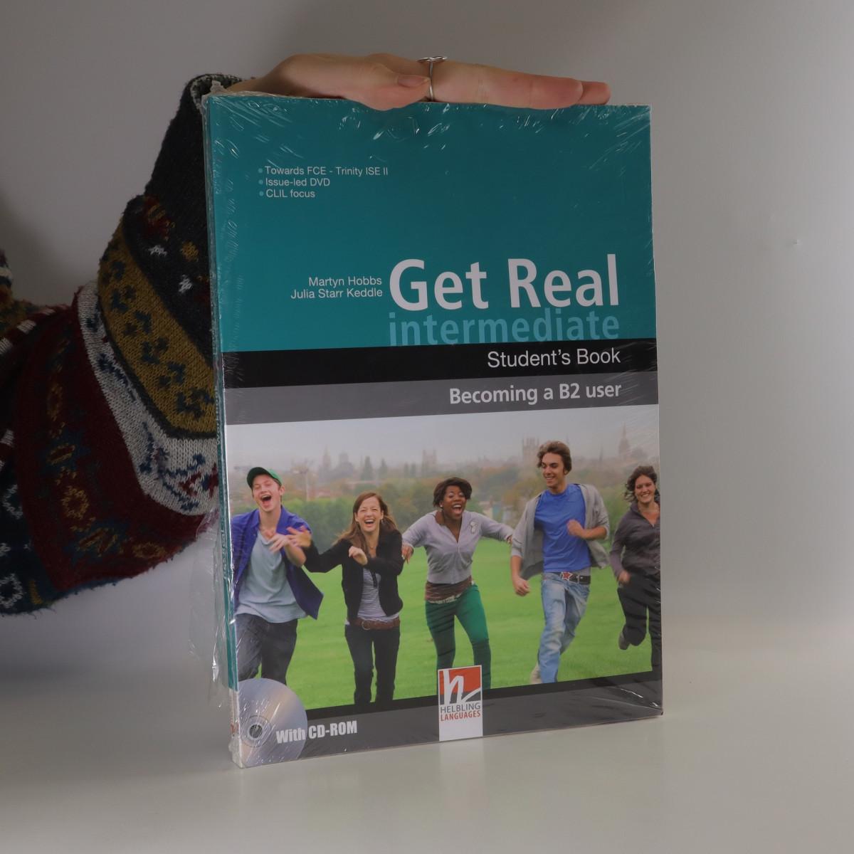 antikvární kniha Get Real. Intermediate. Studet's Book. Workbook. (ve dvou svazcích), neuveden