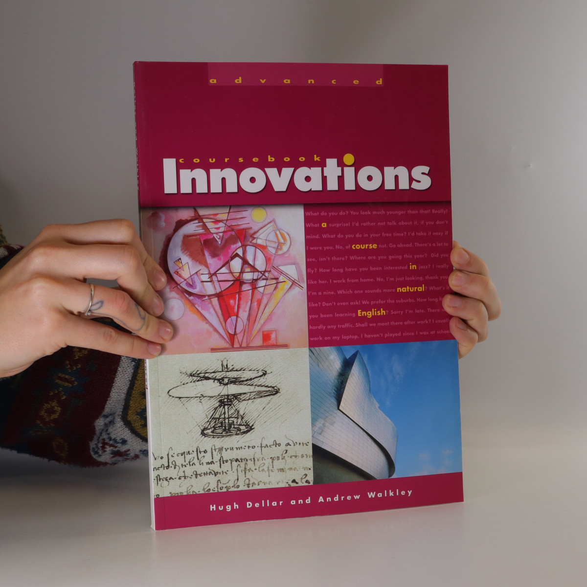 antikvární kniha Innovations Advanced. Course Book., neuveden