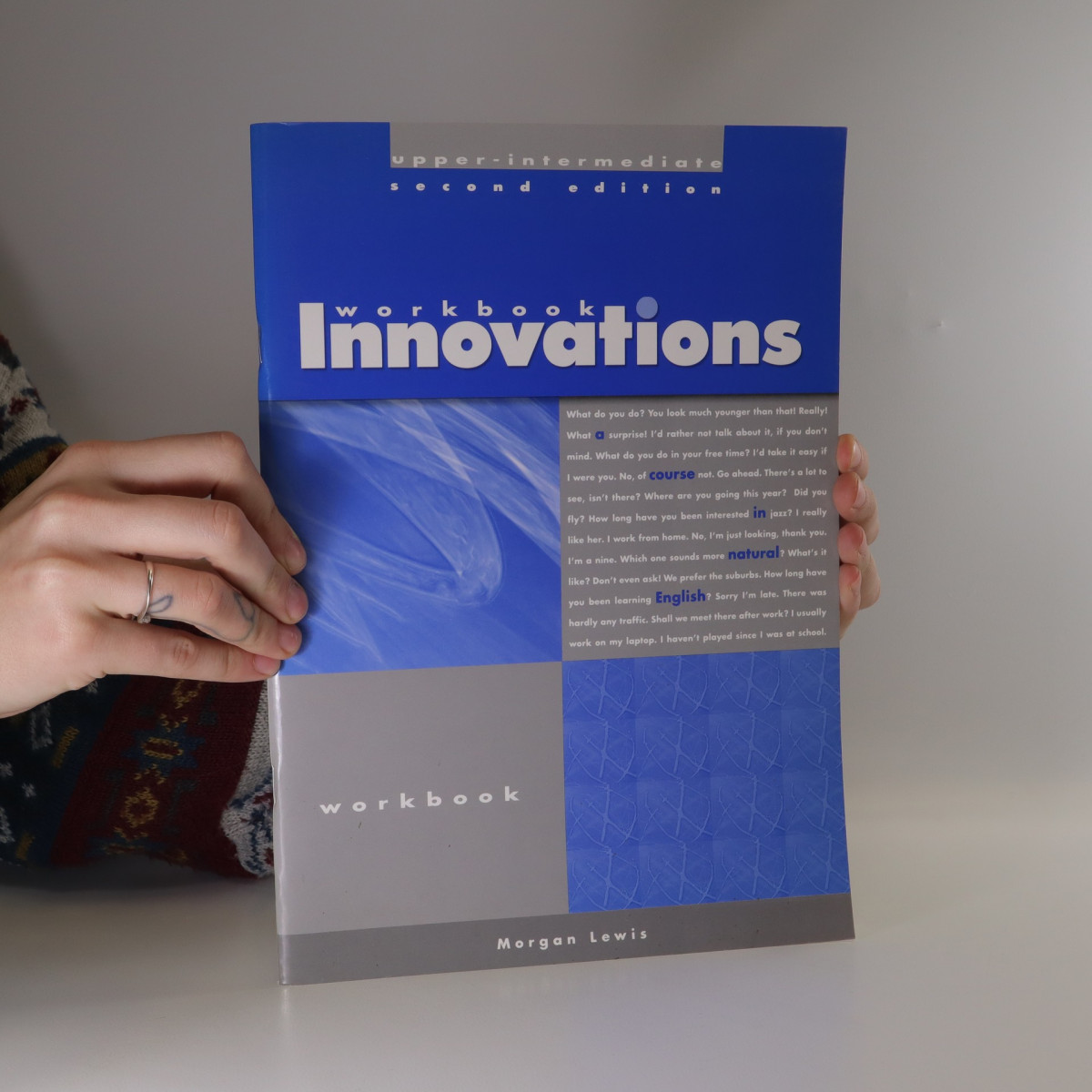 antikvární kniha Innovations : a course in natural English. Upper intermediate. Workbook., neuveden