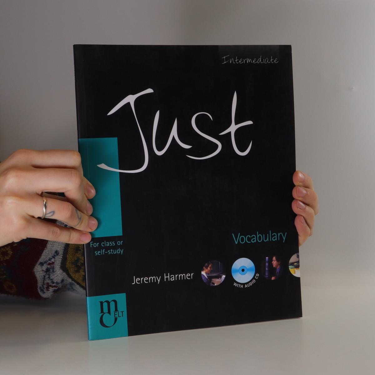 antikvární kniha Just Vocabulary : intermediate : for class or self-study, 2004