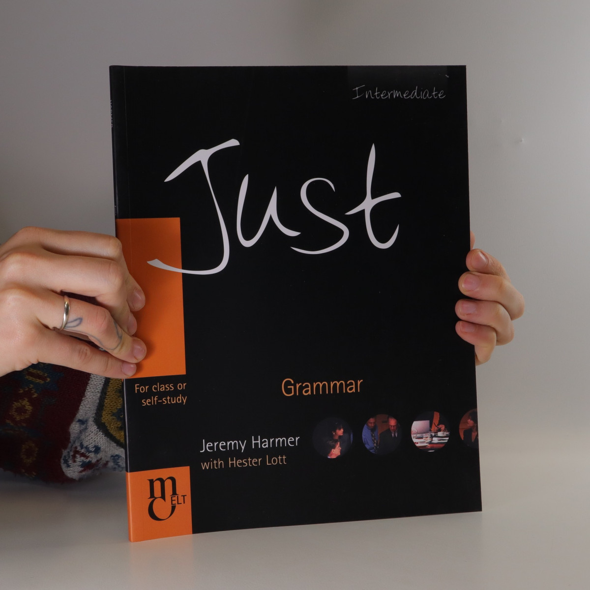 antikvární kniha Just. Grammar : intermediate : for class or self-study., 2004
