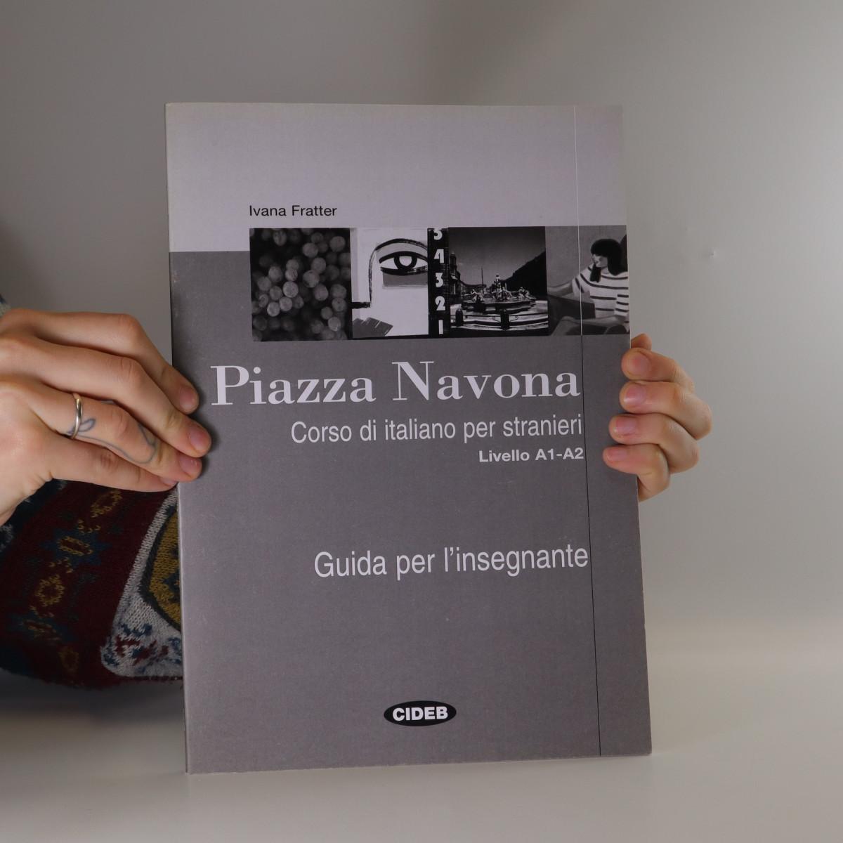 antikvární kniha Piazza Navona. Guida per l'insegnante., 2007