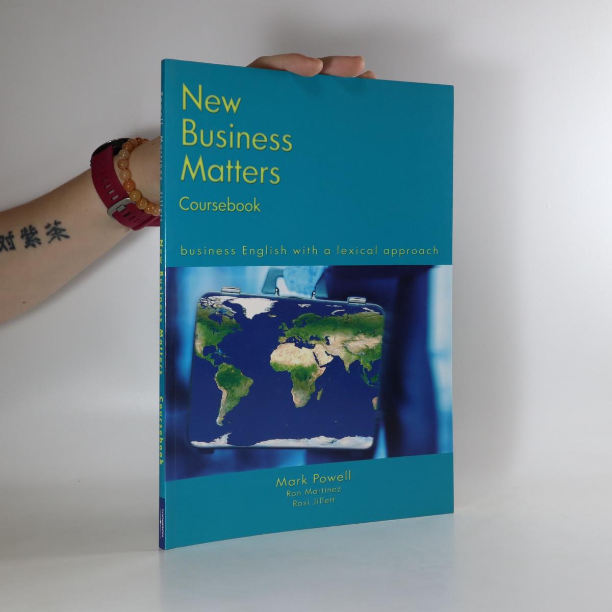 antikvární kniha New business matters. Coursebook, neuveden