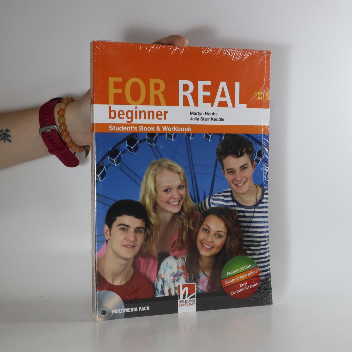 antikvární kniha FOR REAL Beginner Student's Pack, neuveden