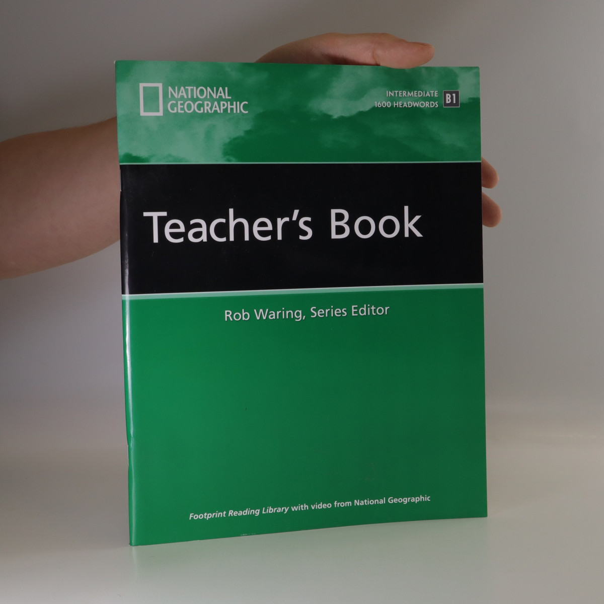 antikvární kniha Footprint Reading Library Teacher's Book. Intermediate. 1600 Headwoords. B1, neuveden