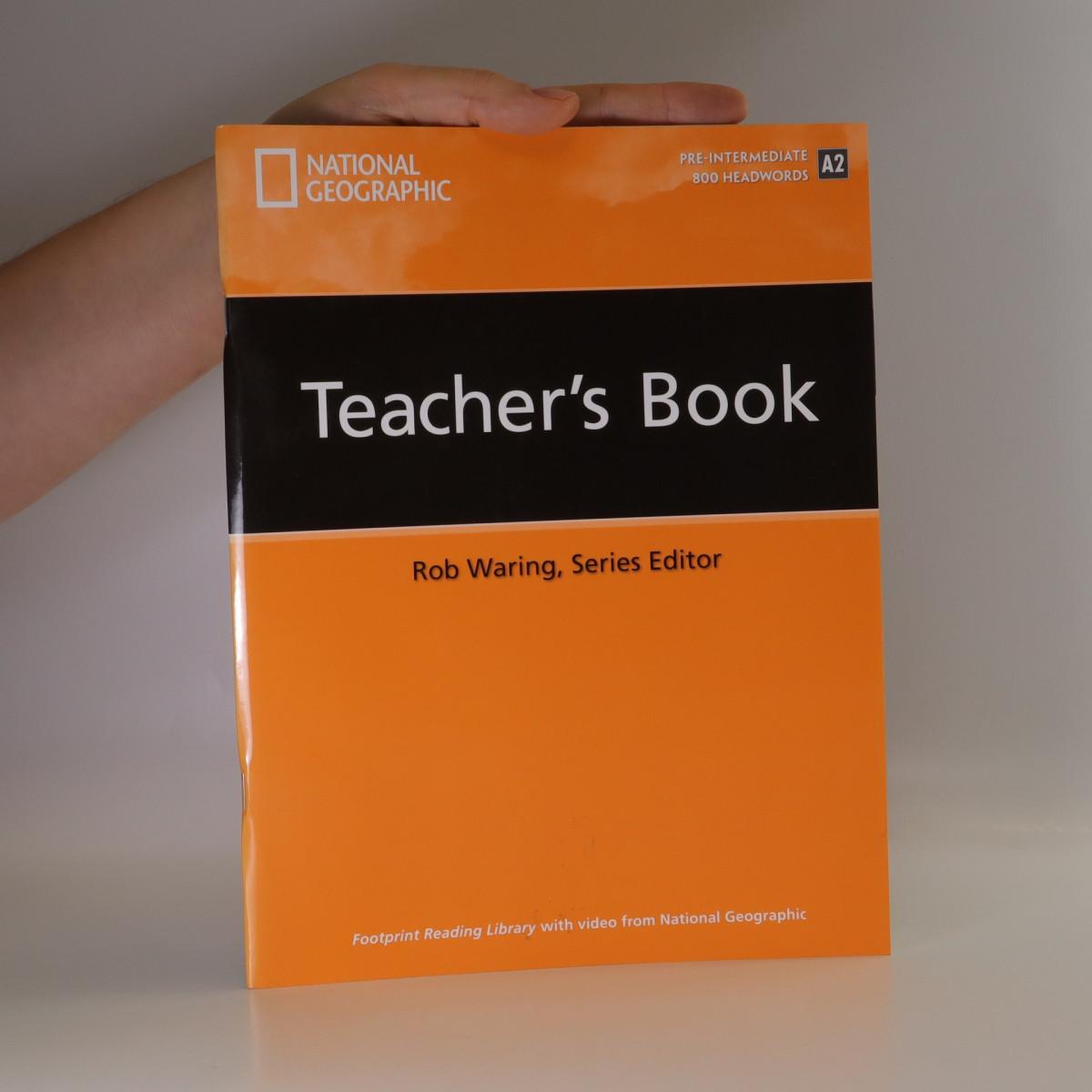 antikvární kniha Footprint Reading Library Teacher's Book. Pre - Intermediate. 800 Headwords. A2., neuveden
