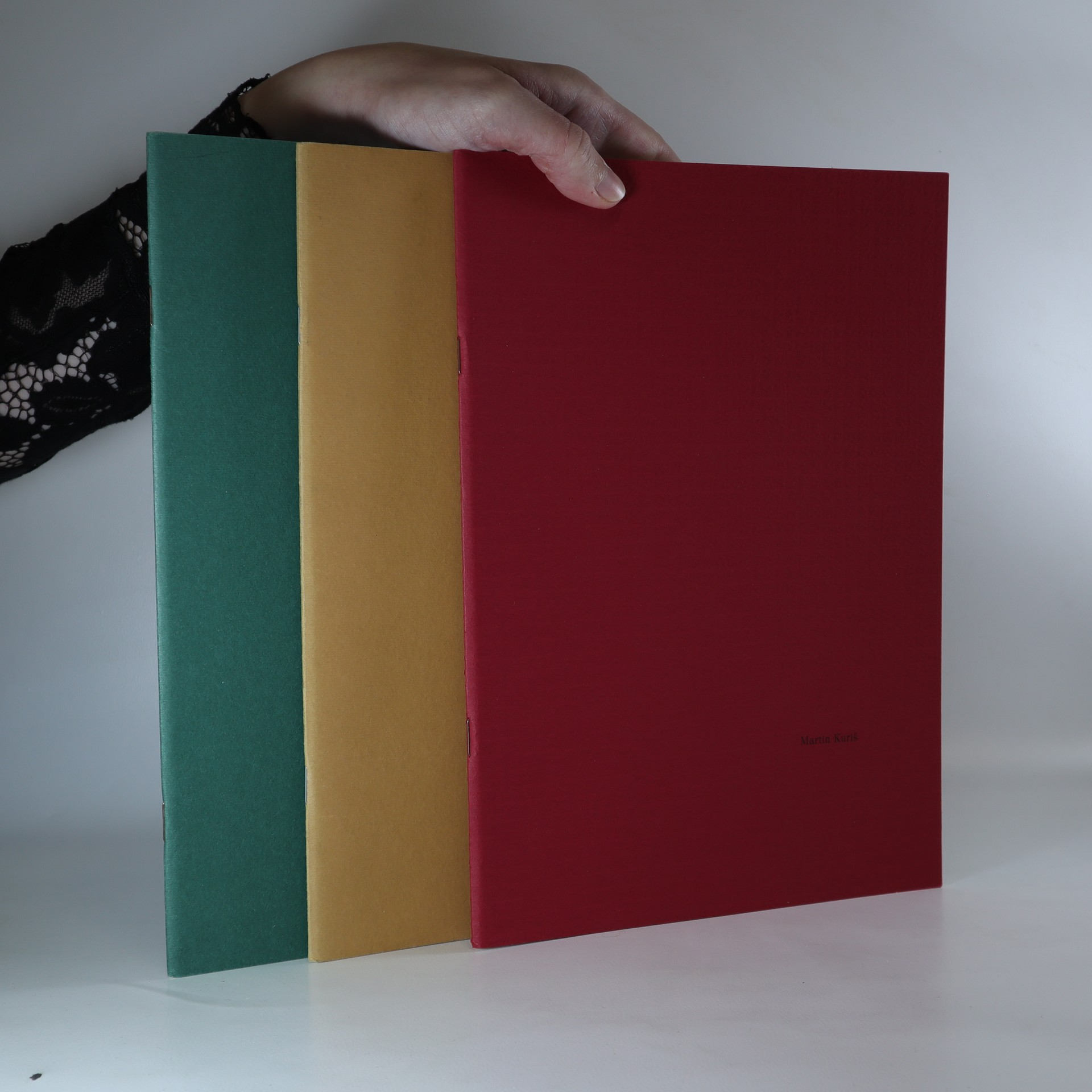 antikvární kniha 3x Martin Kuriš (3 svazky, viz foto), 2000-2001