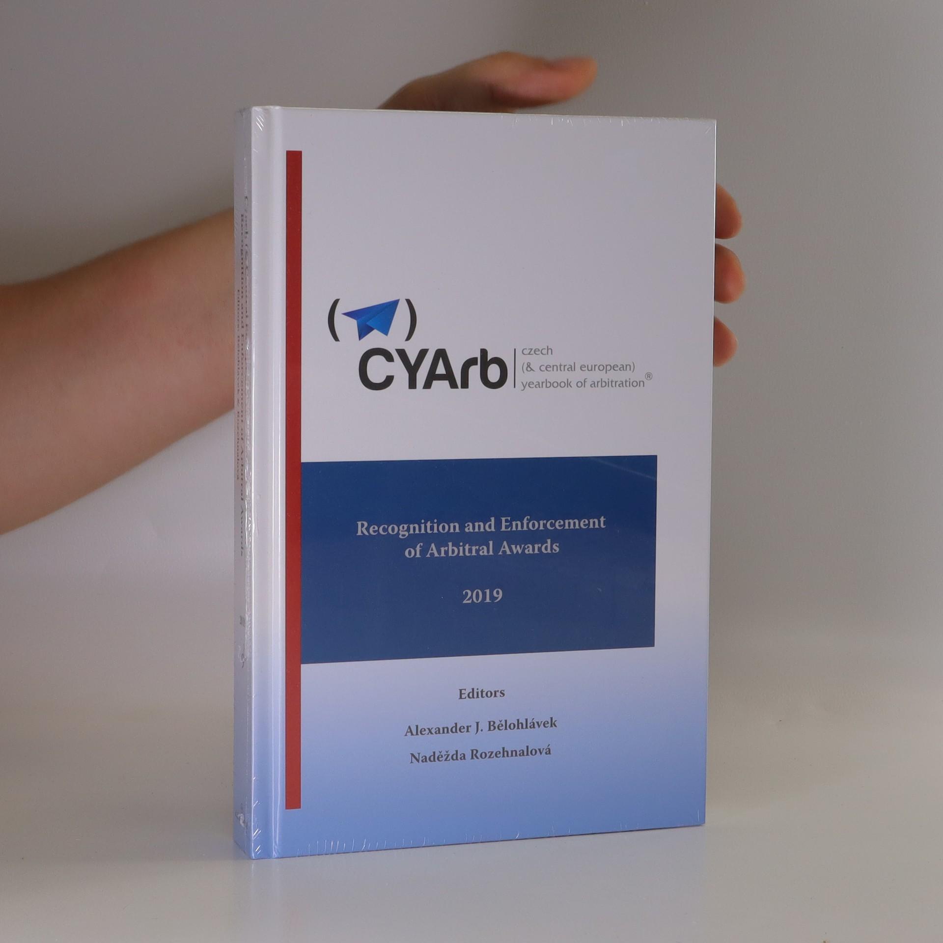 antikvární kniha Recognition and enforcement of arbitral awards, 2019
