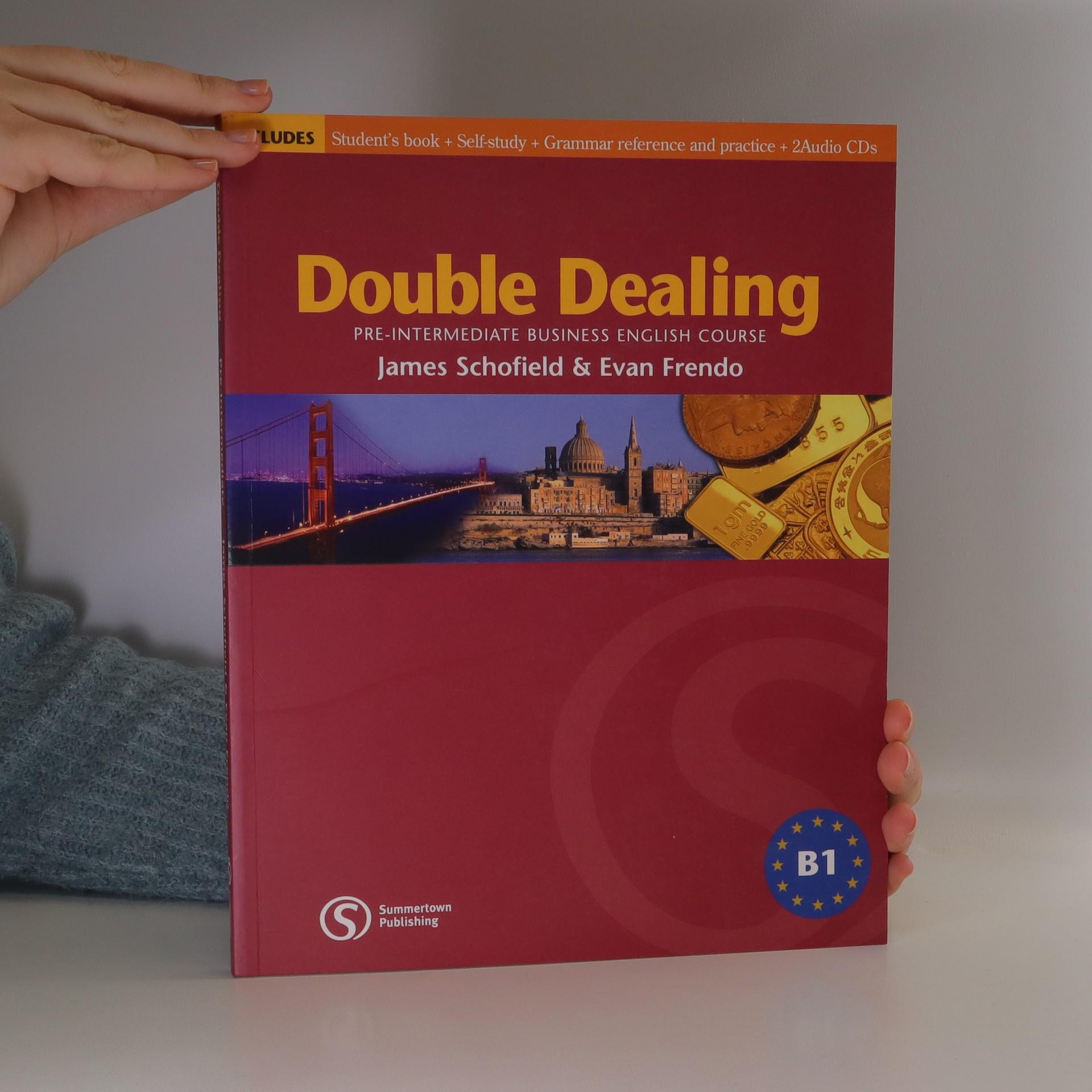 antikvární kniha Double dealing, 2005