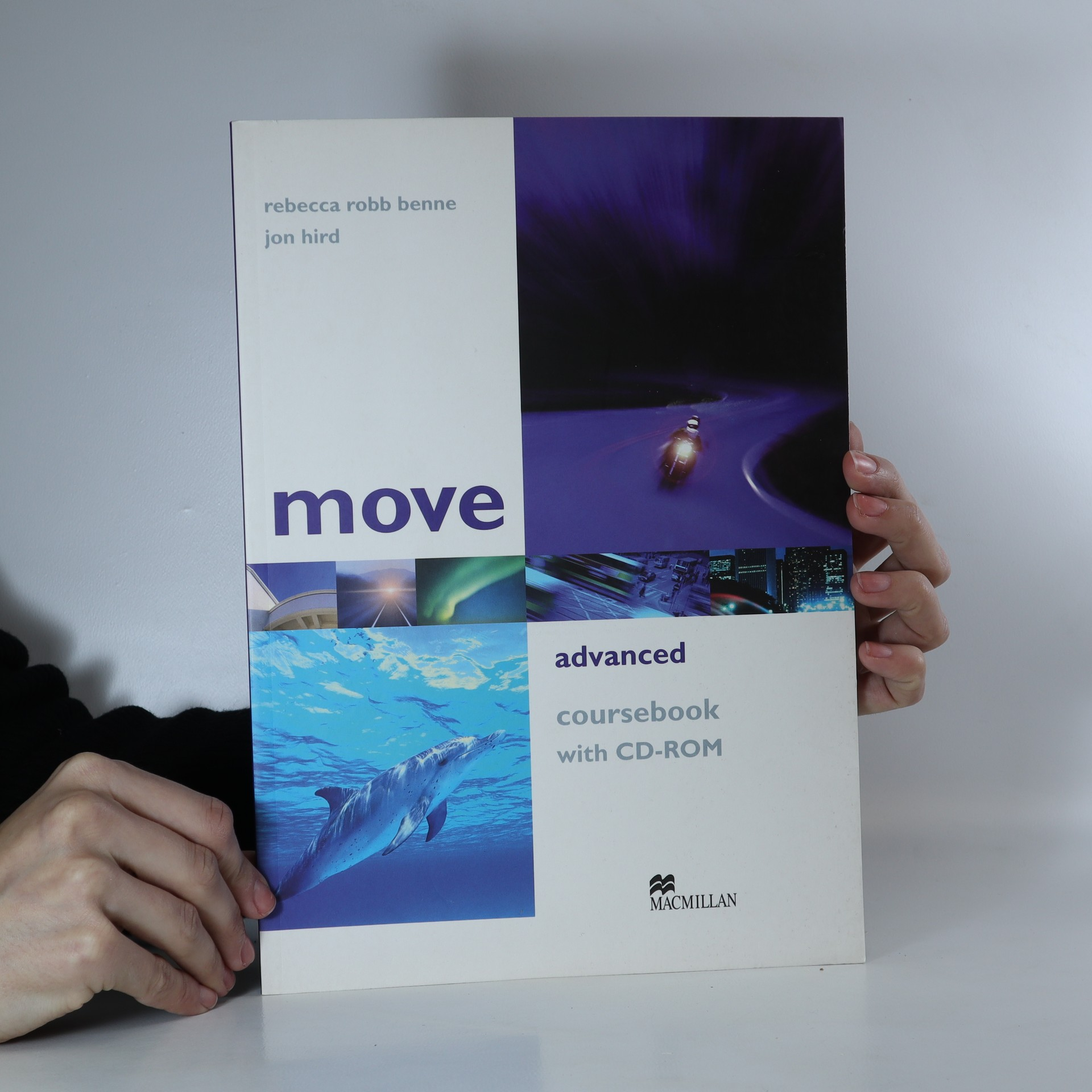 antikvární kniha Move : advanced : coursebook with CD-ROM, 2007